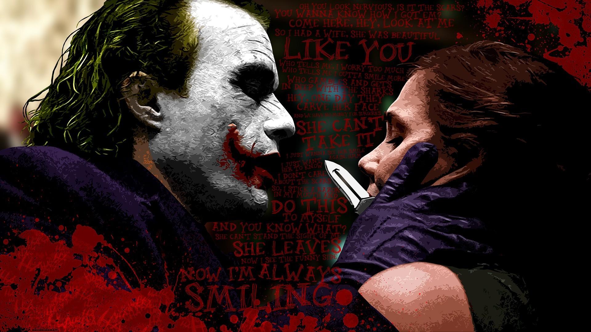 Quotes Batman Maggie Gyllenhaal Rachel Dawes Dark Knight Joker Blood  Splatters Knives Typography #quotes #