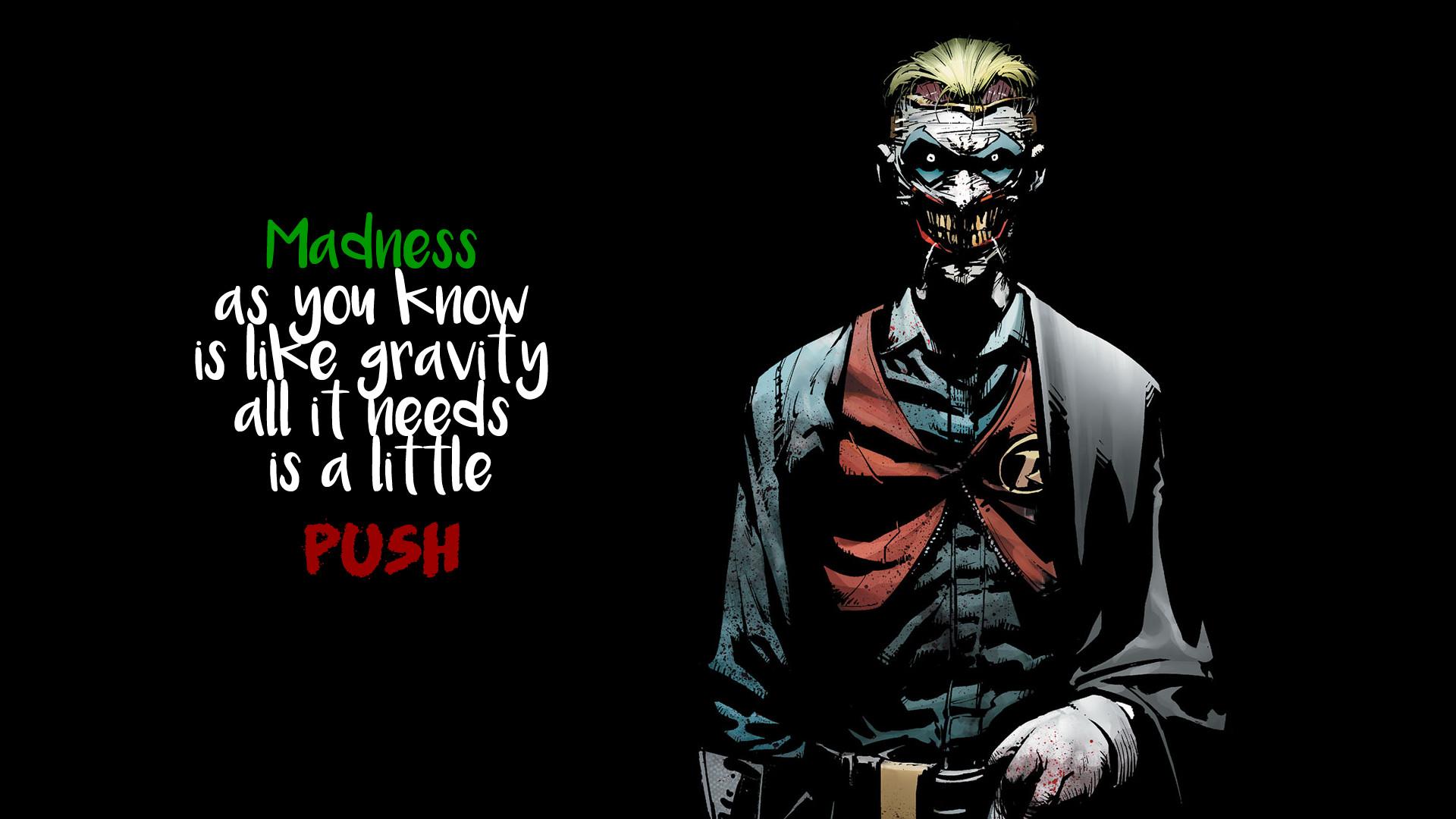 General Joker quote