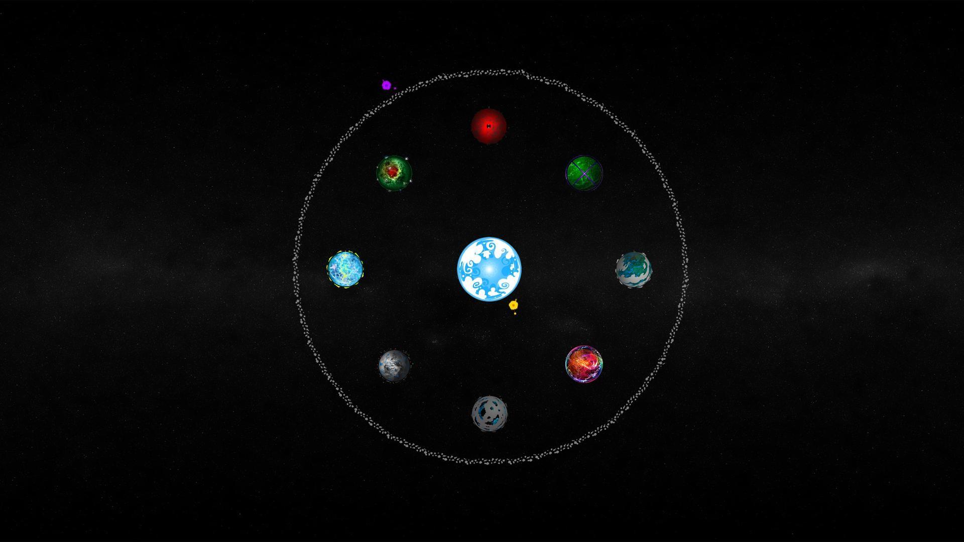 B2 Universe Planetary Alignment Wallpaper …