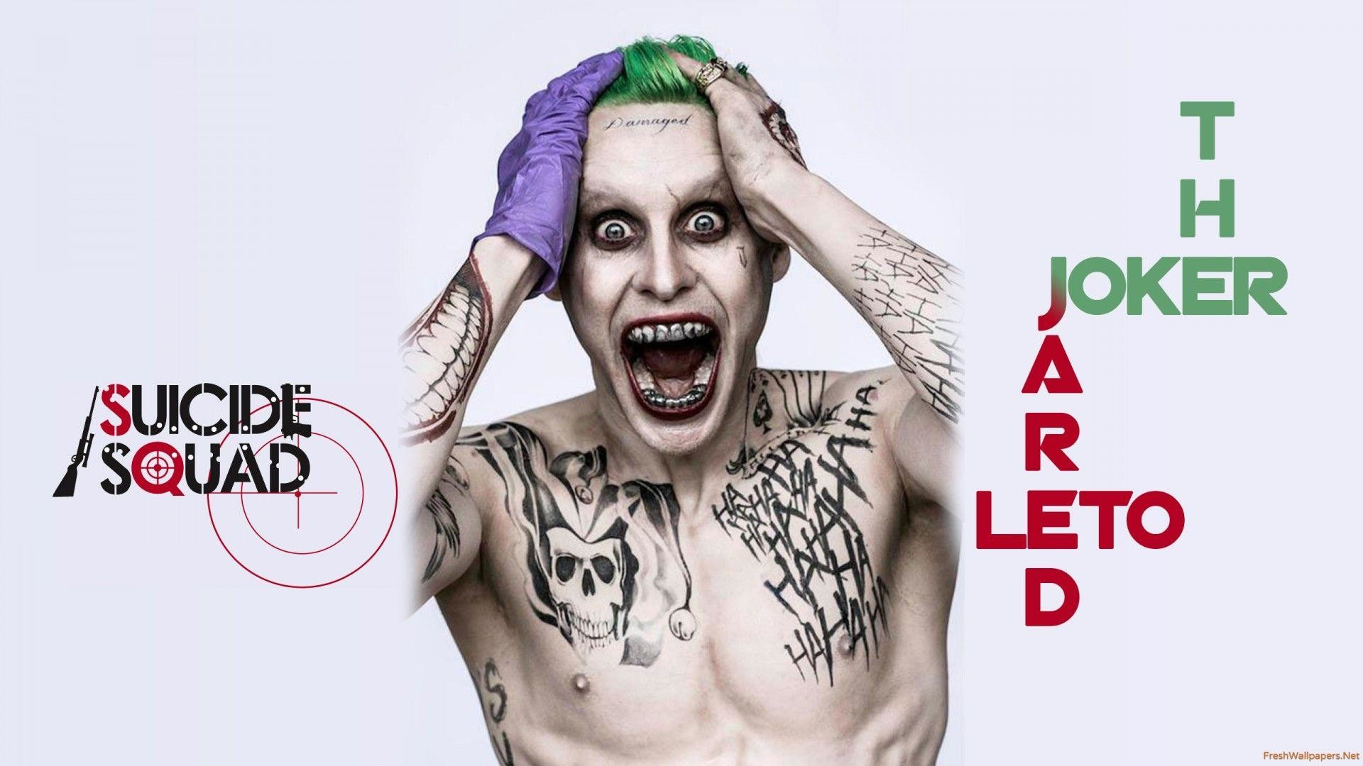 The Joker In Suicide Squad wallpapers | Freshwallpapers