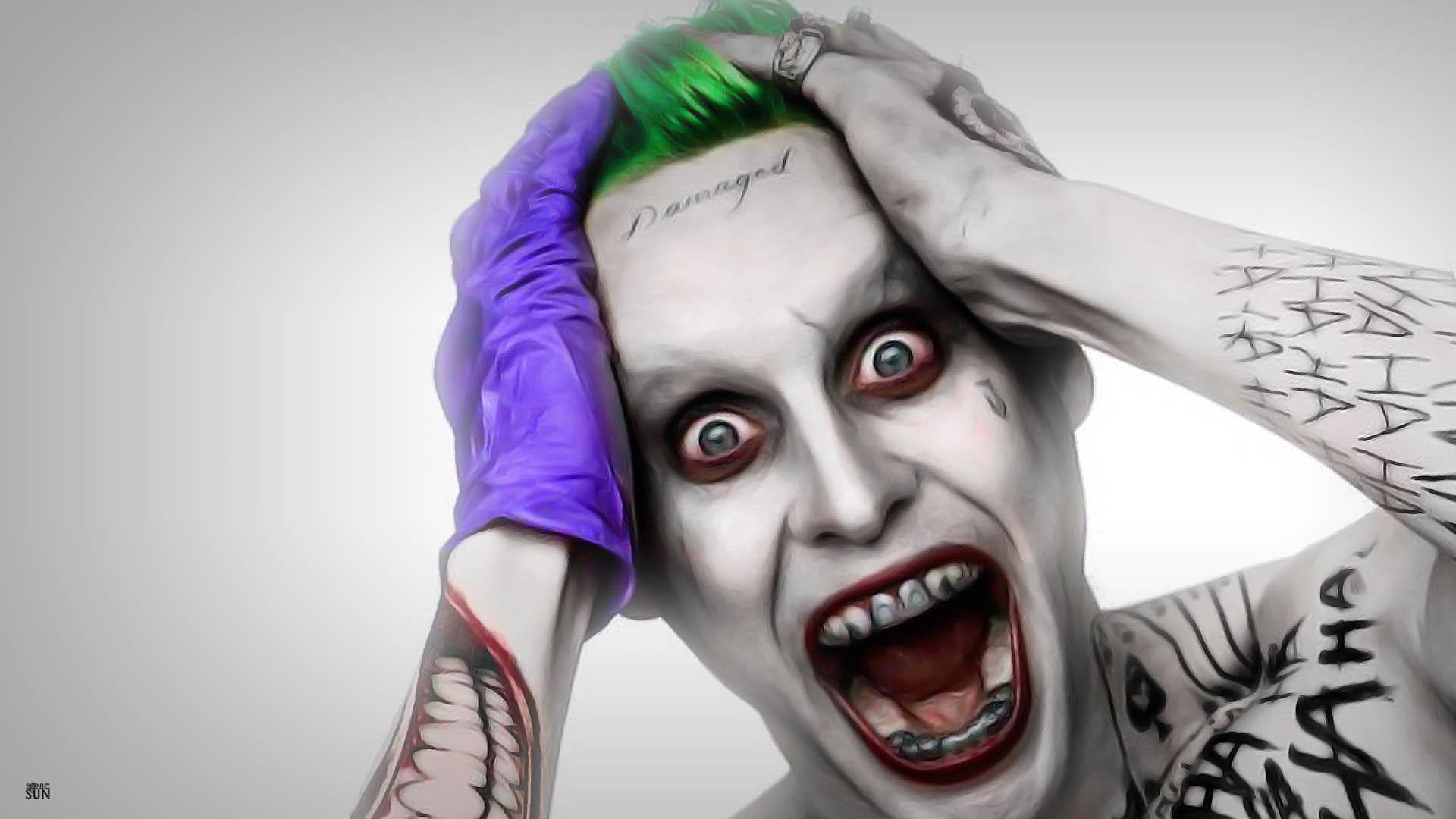 … Joker Leto Wallpaper by Sonic-Sun