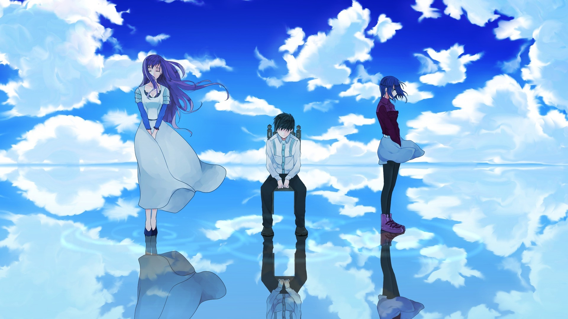 Tokyo Ghoul, Anime, Kaneki Ken, Kirishima Touka, Kamishiro Rize Wallpapers  HD / Desktop and Mobile Backgrounds