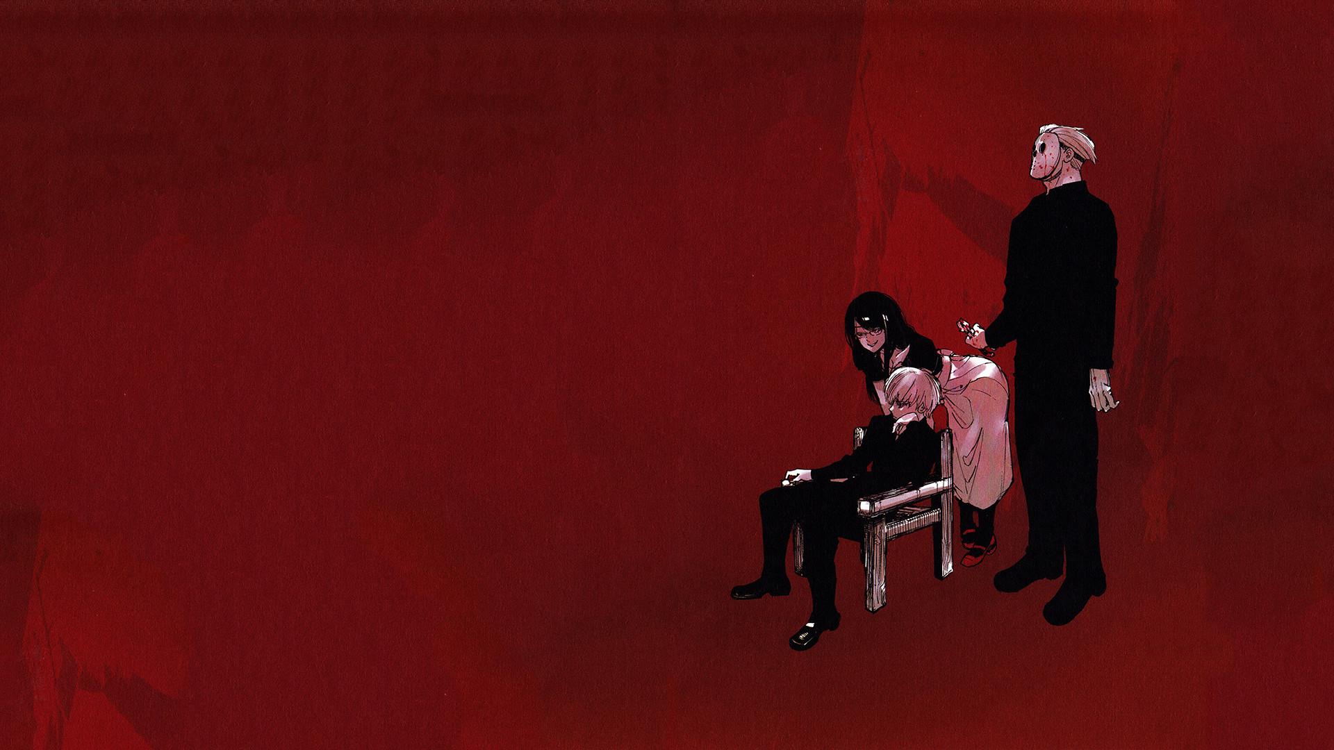 Anime – Tokyo Ghoul Rize Kamishiro Ken Kaneki Yakumo Oomori Wallpaper