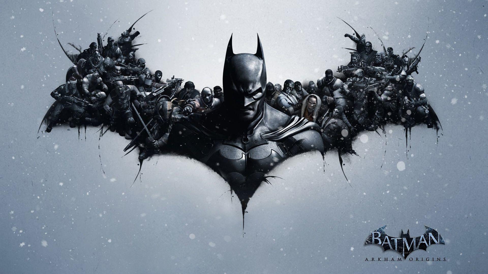 Batman Arkham Origins Video Game Wallpapers.