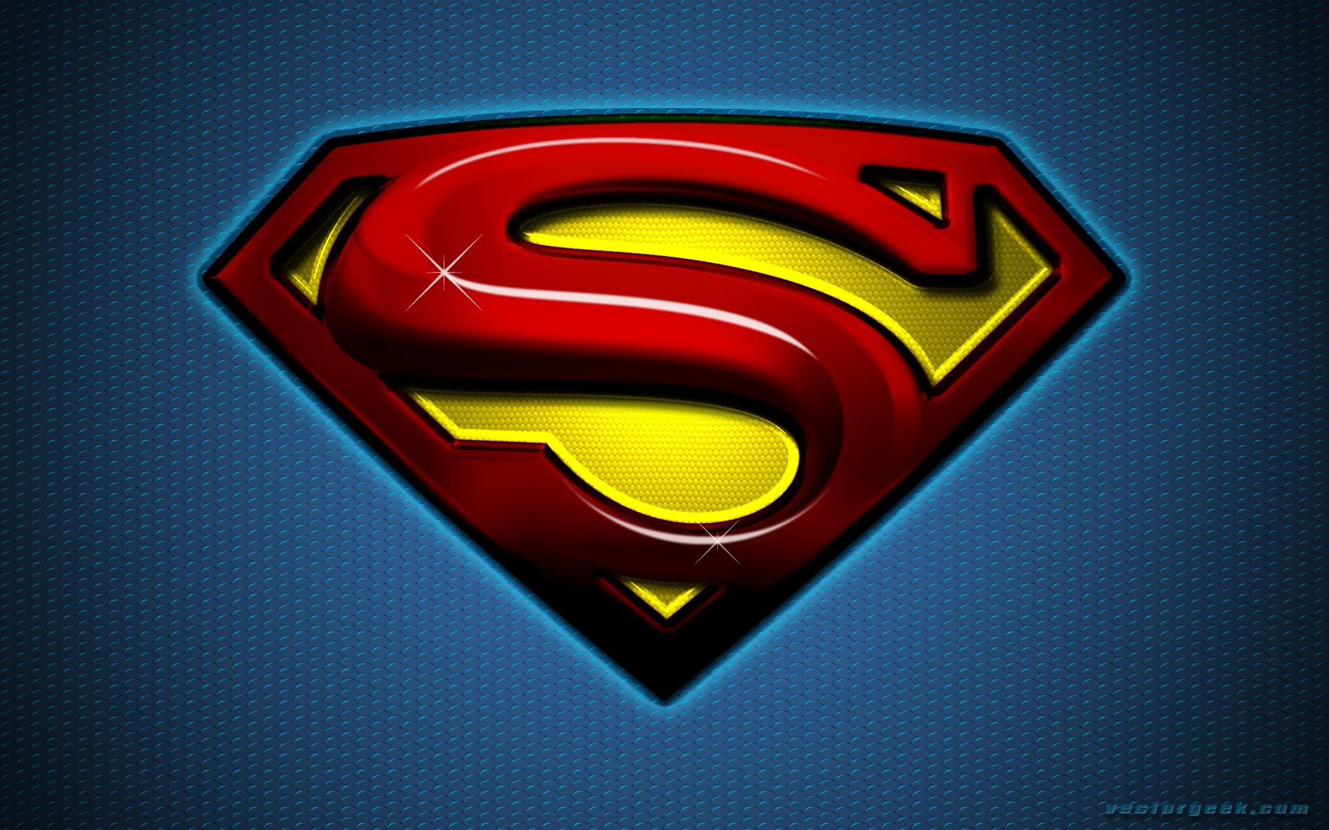 14102) Superman Logo Cool Backgrounds Wallpaper Attachment .