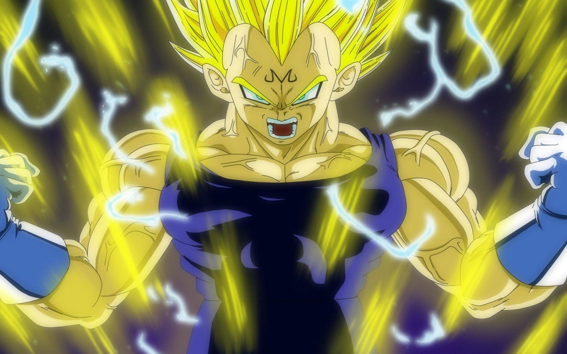 Dragon Ball Z Pictures Of Majin Vegeta