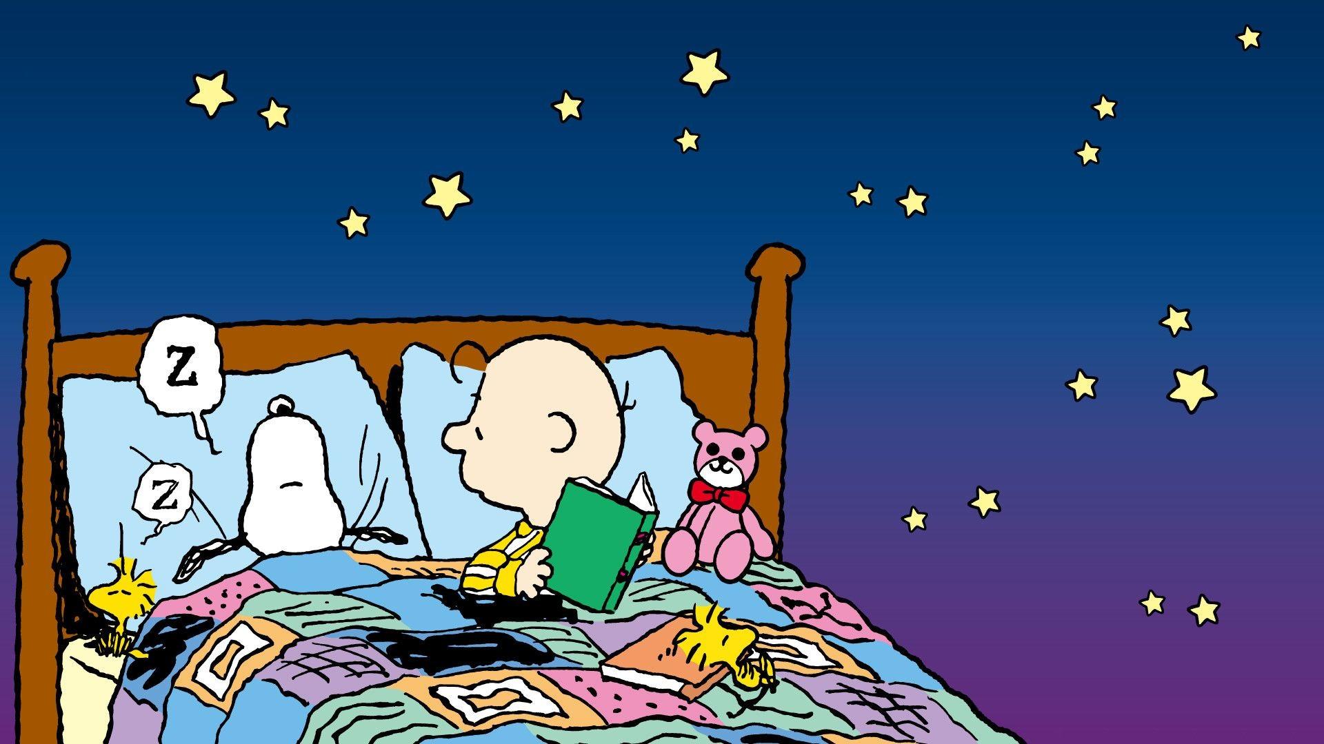 Snoopy Sleeping Wallpaper