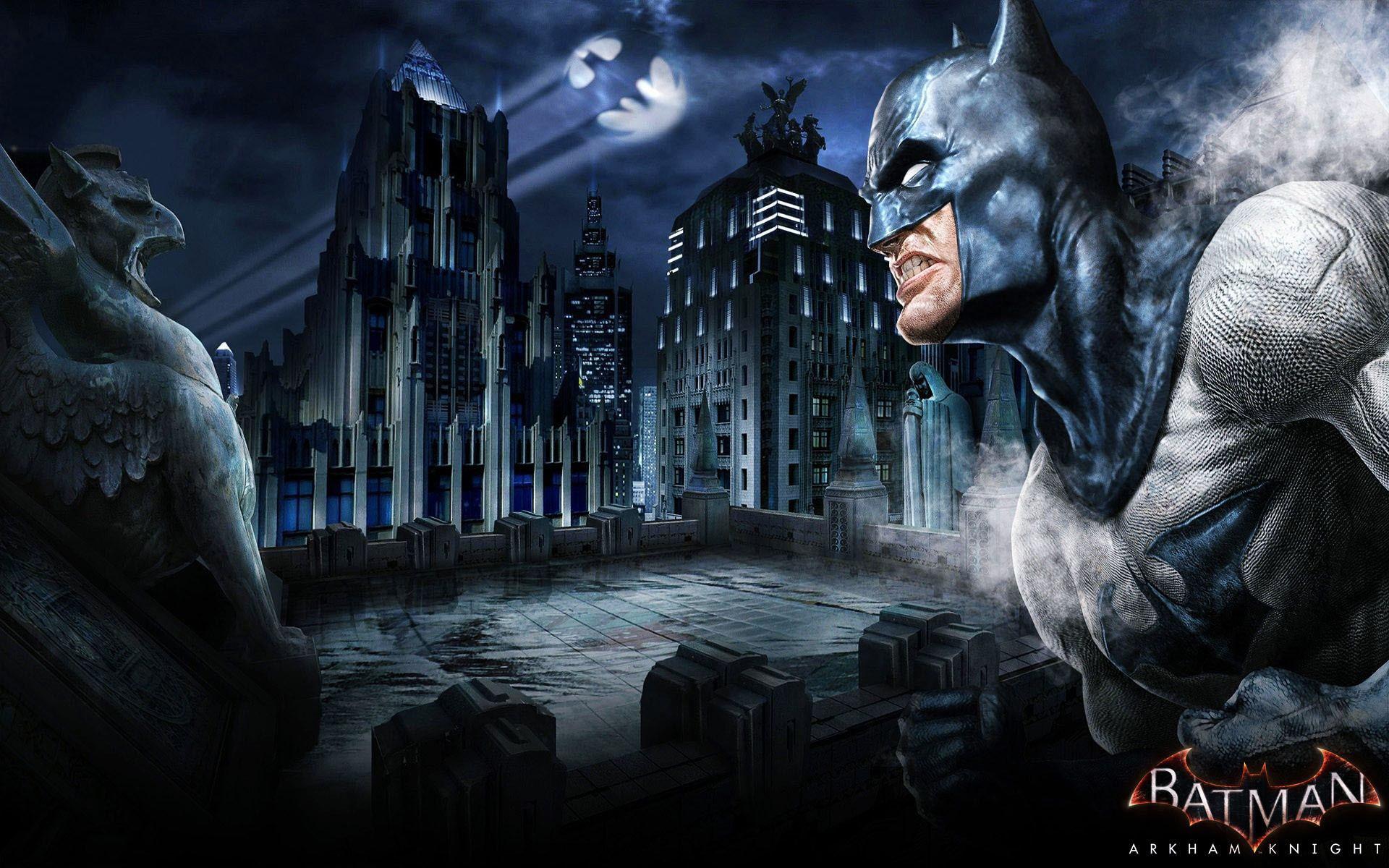 Batman Arkham Knight – The Bat-Signal wallpaper