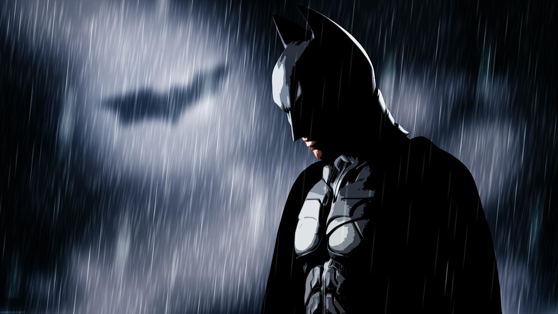 rain, MessenjahMatt, people, Batman, Bat signal – wallpaper #97799  (1920x1080px) on Wallls.com