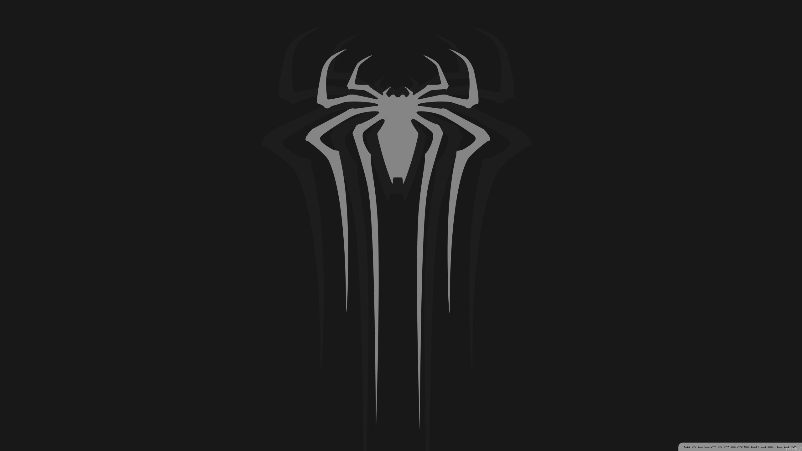Spider-man White HD Wide Wallpaper for Widescreen