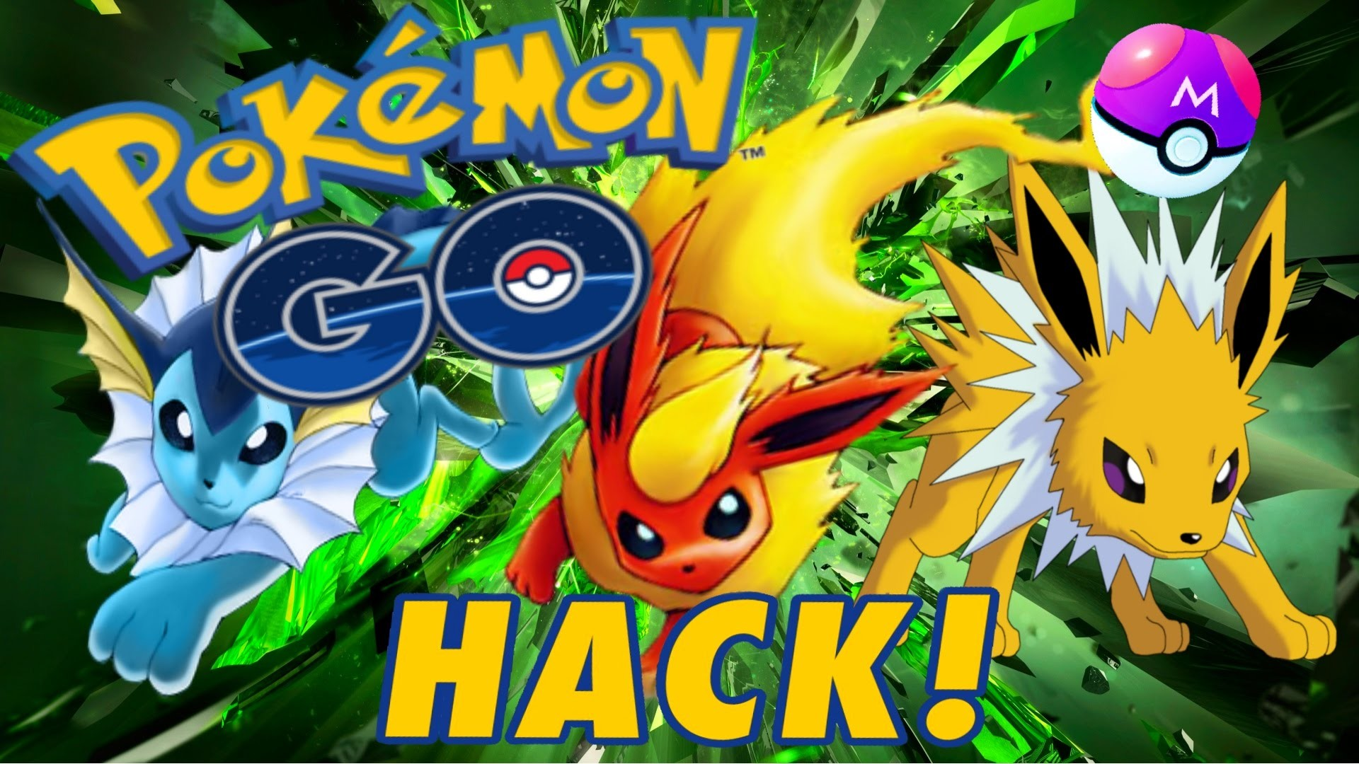 POKEMON GO – EEVEE EVOLUTION HACK GLITCH – SECRET EASTER EGG TRICK – CHOOSE  JOLTEON FLAREON VAPOREON – YouTube
