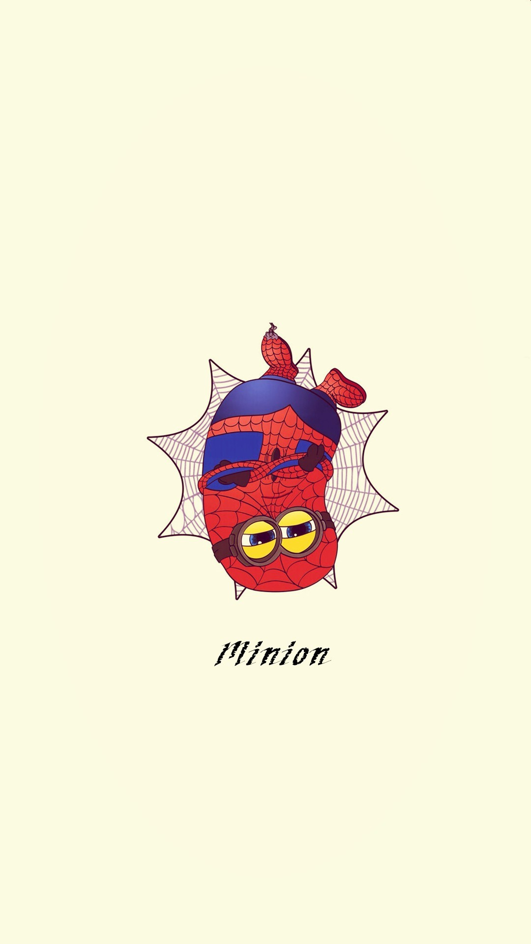 2014 Halloween spider man minion apple iphone 6 plus wallpaper HD – cartoon  Despicable Me iphone