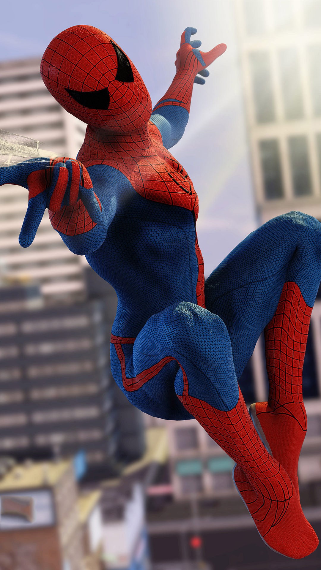 Spiderman in Civil War. Tap to see more The Spiderman iPhone wallpapers,  backgrounds,