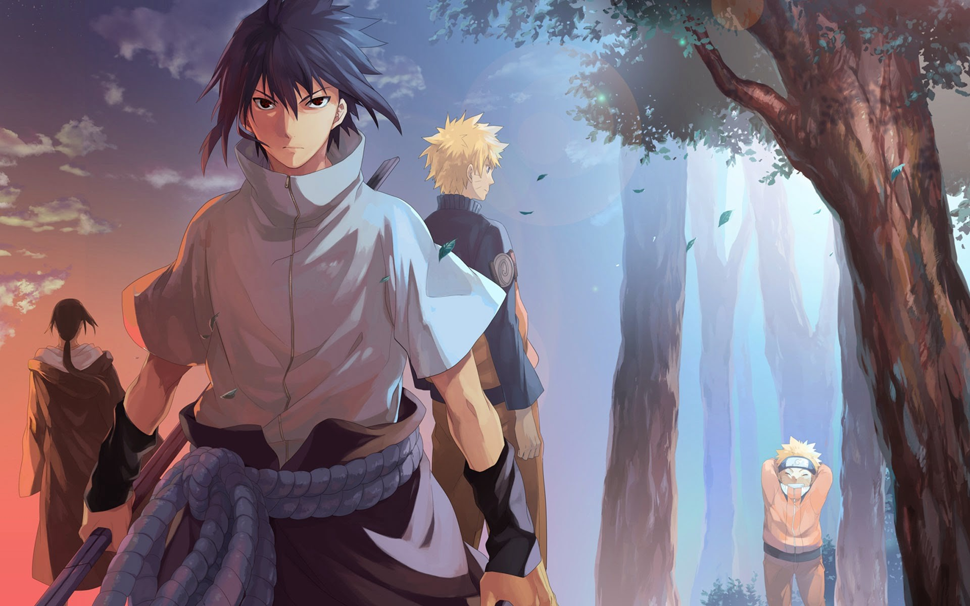 sasuke itachi uchiha brothers naruto anime hd wallpaper 7r.