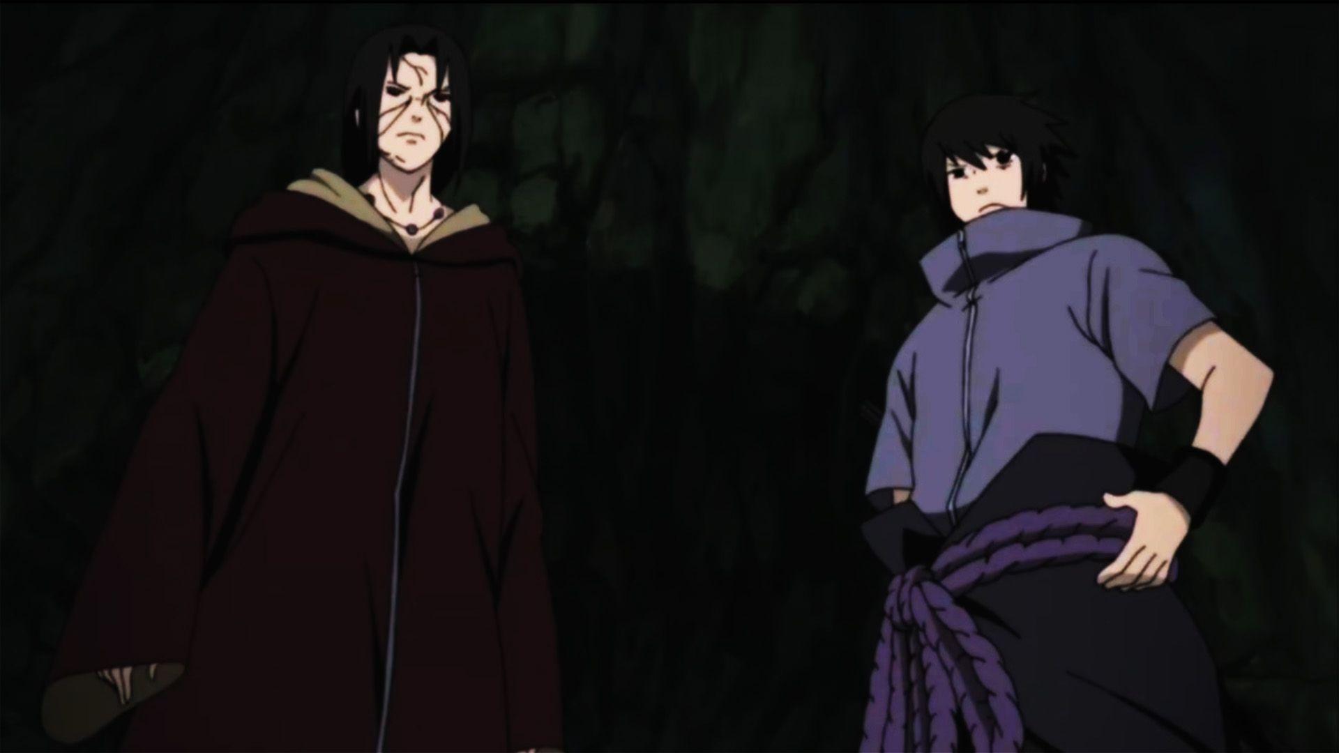 Itachi and Sasuke HD Wallpaper   Anime Wallpapers
