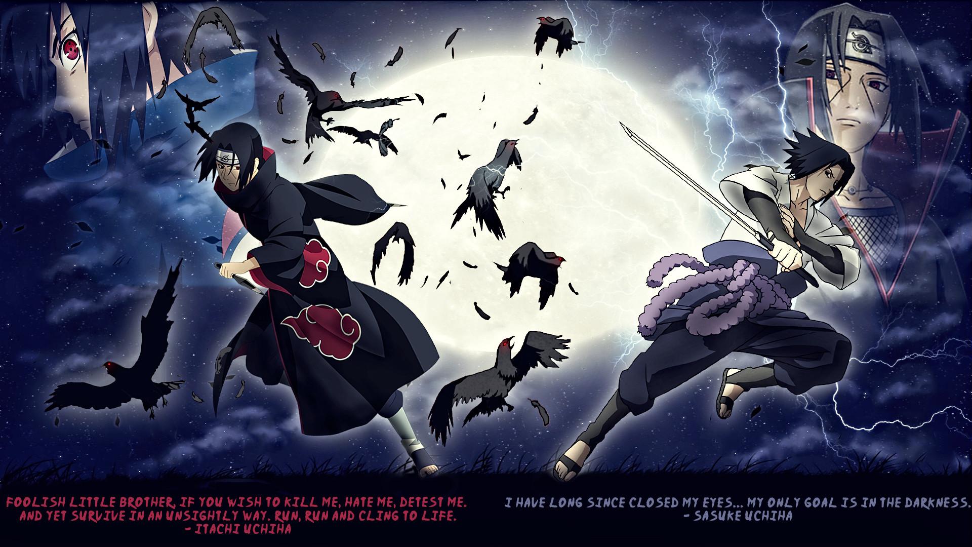 sasuke and itachi images Itachi vs Sasuke HD wallpaper and background photos