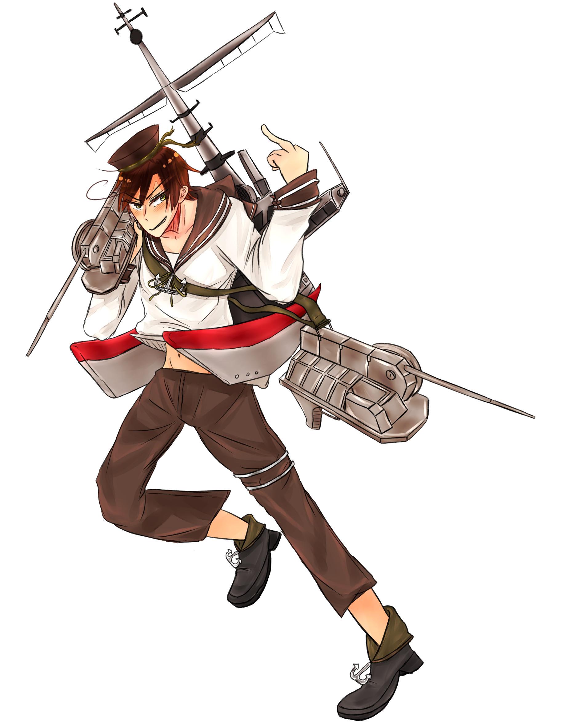 … [APH X KanColle] Lovino Class Destroyer by Akiraka-chan