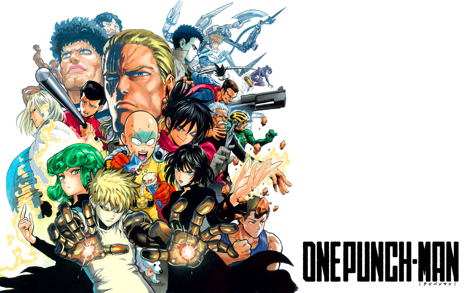 One Punch Man Wallpaper HD