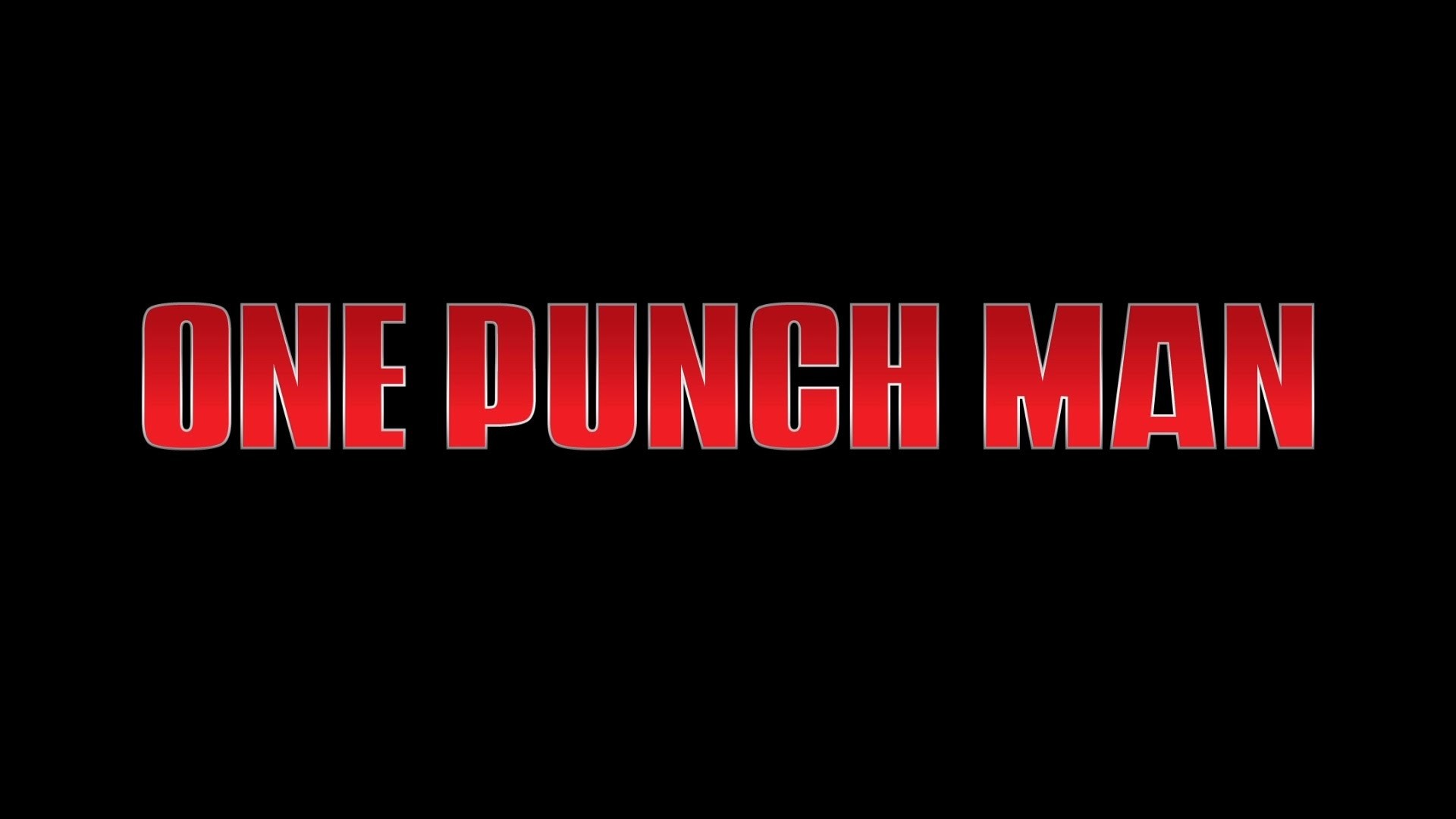 One Punch Man wallpaper taken from the PV ( i.imgur.com )