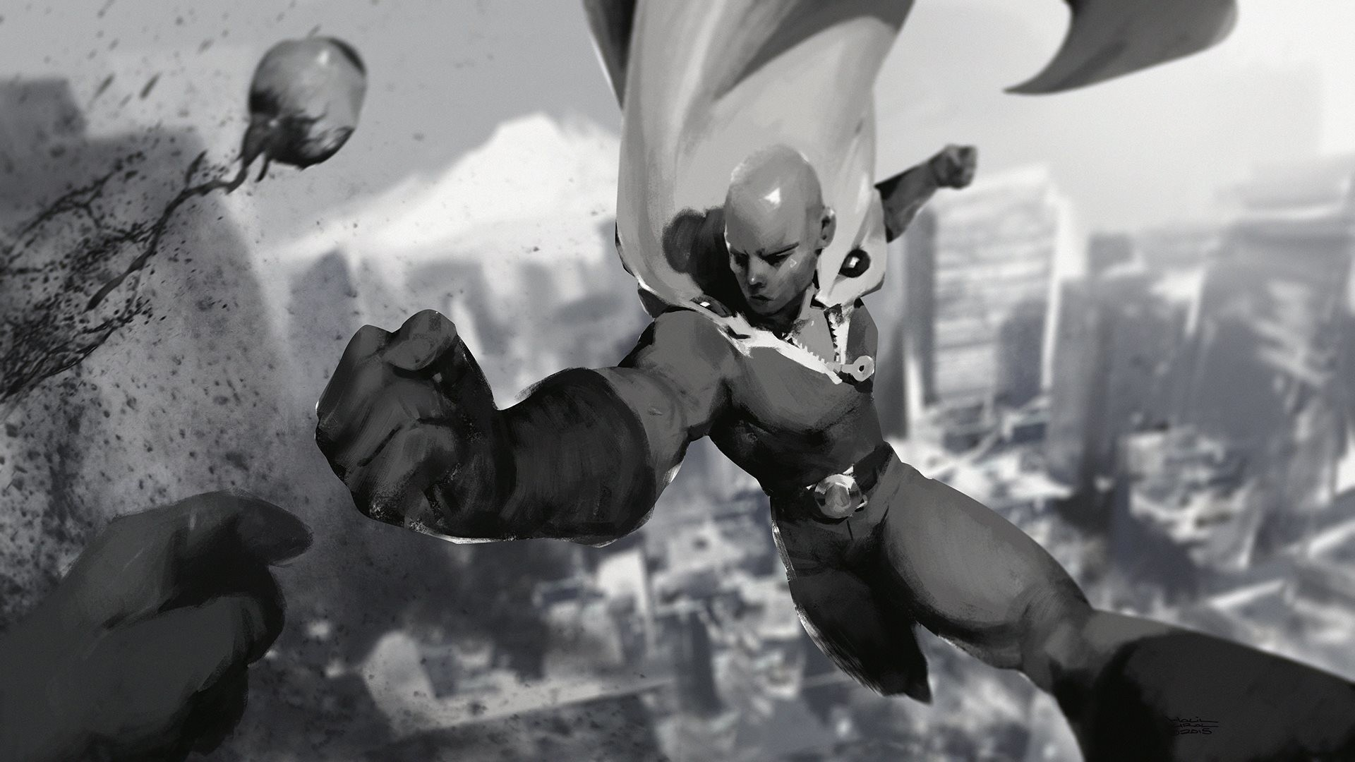 one punch man wallpaper 1920×1080 images (12)