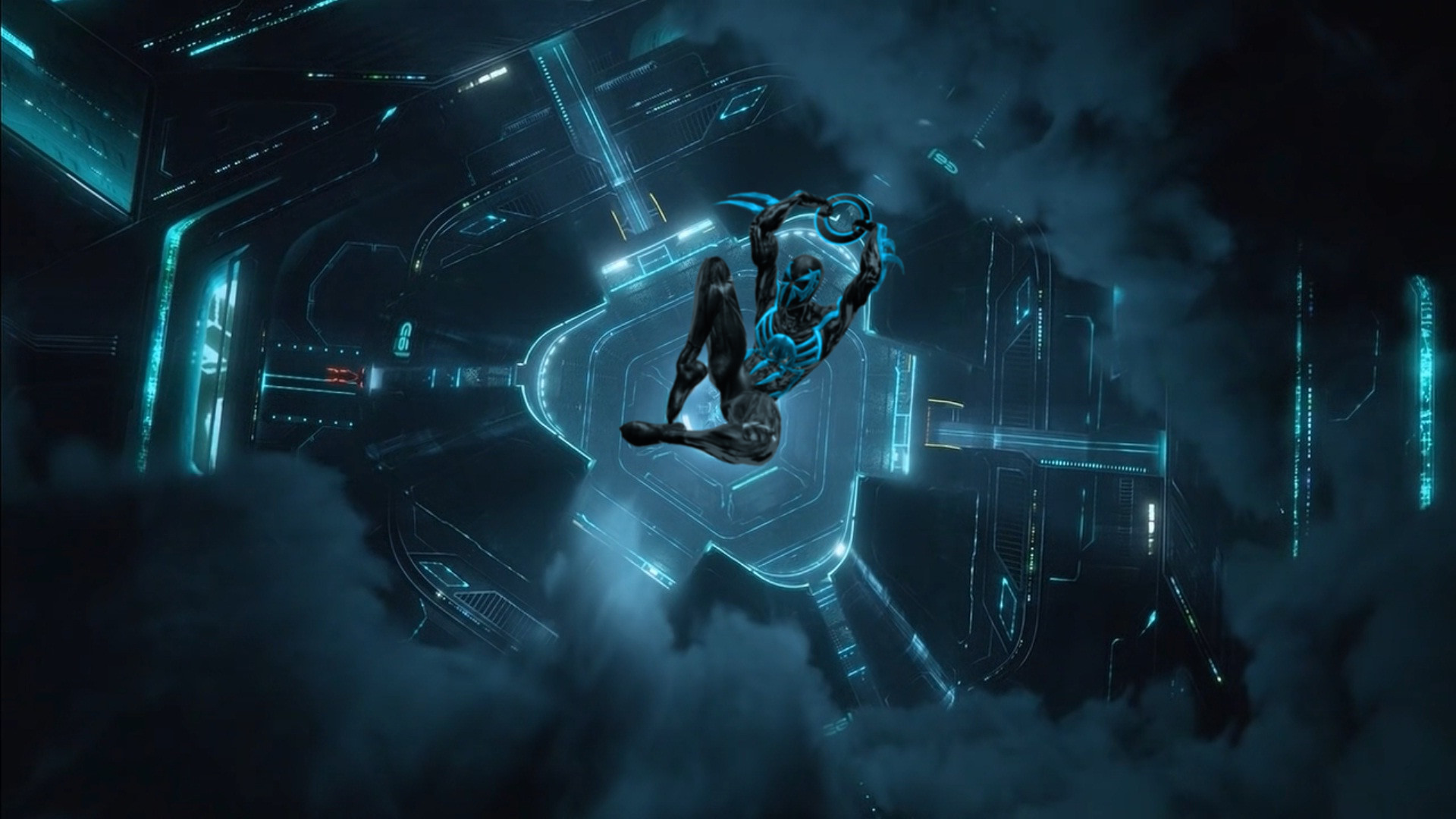 Tron Legacy Spider-Man 2099 by saltso on DeviantArt