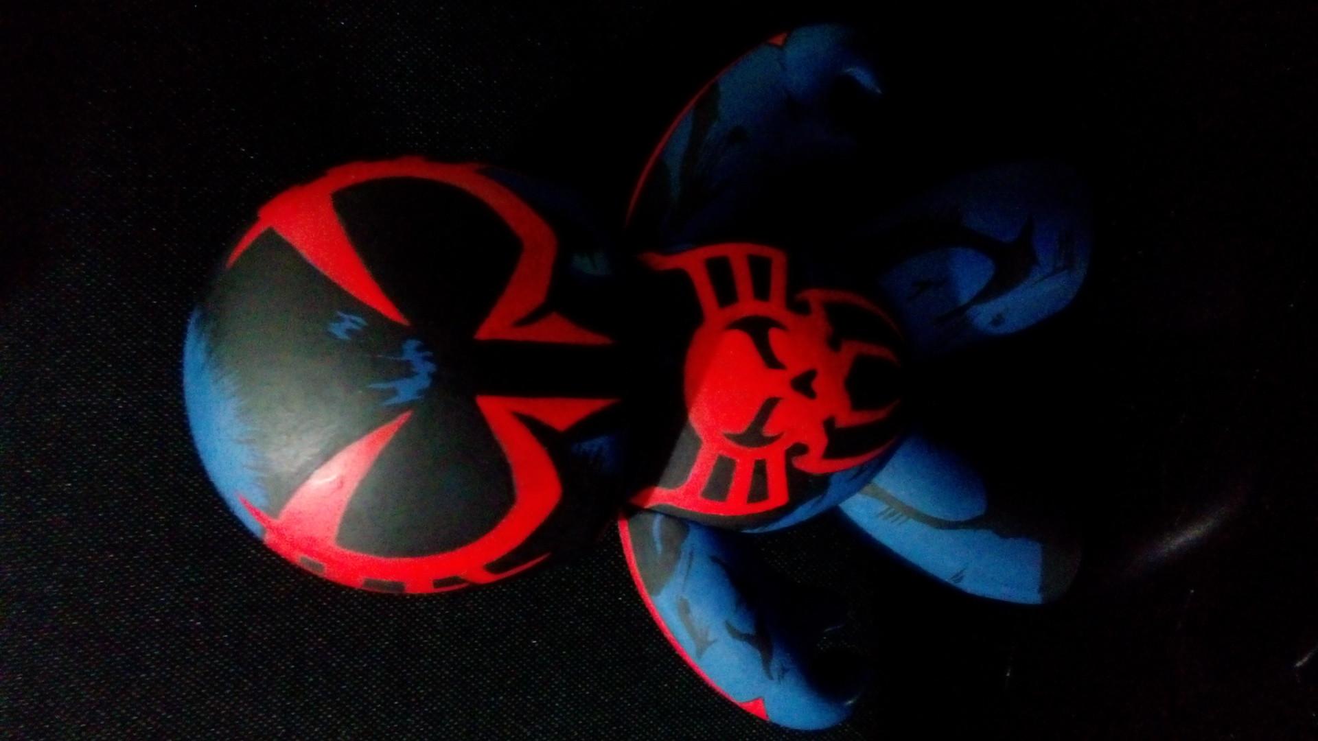 Custom Hasbro Mighty Muggs Spider-Man 2099