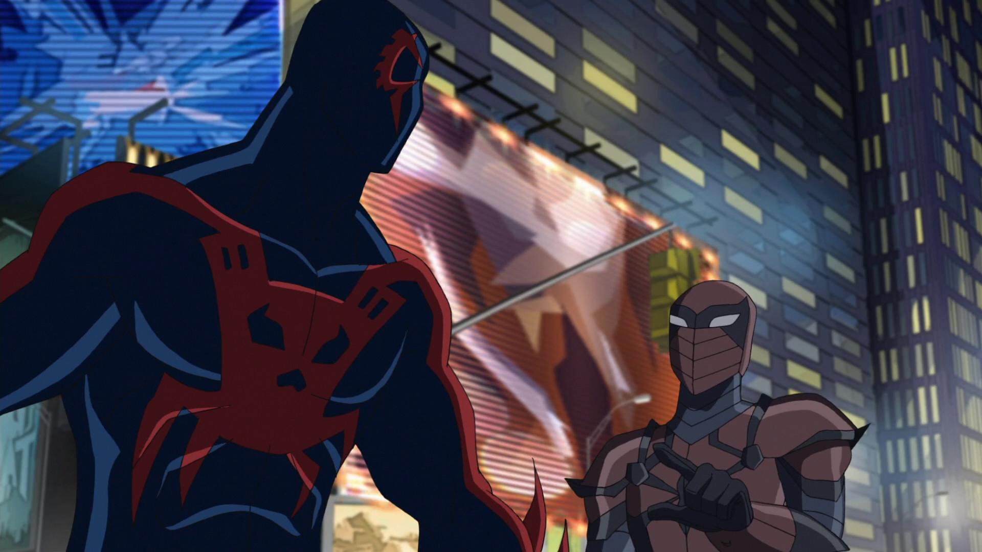Image – Spyder-Knight and Spider-Man 2099 USMWW 1.png | Disney Wiki |  FANDOM powered by Wikia