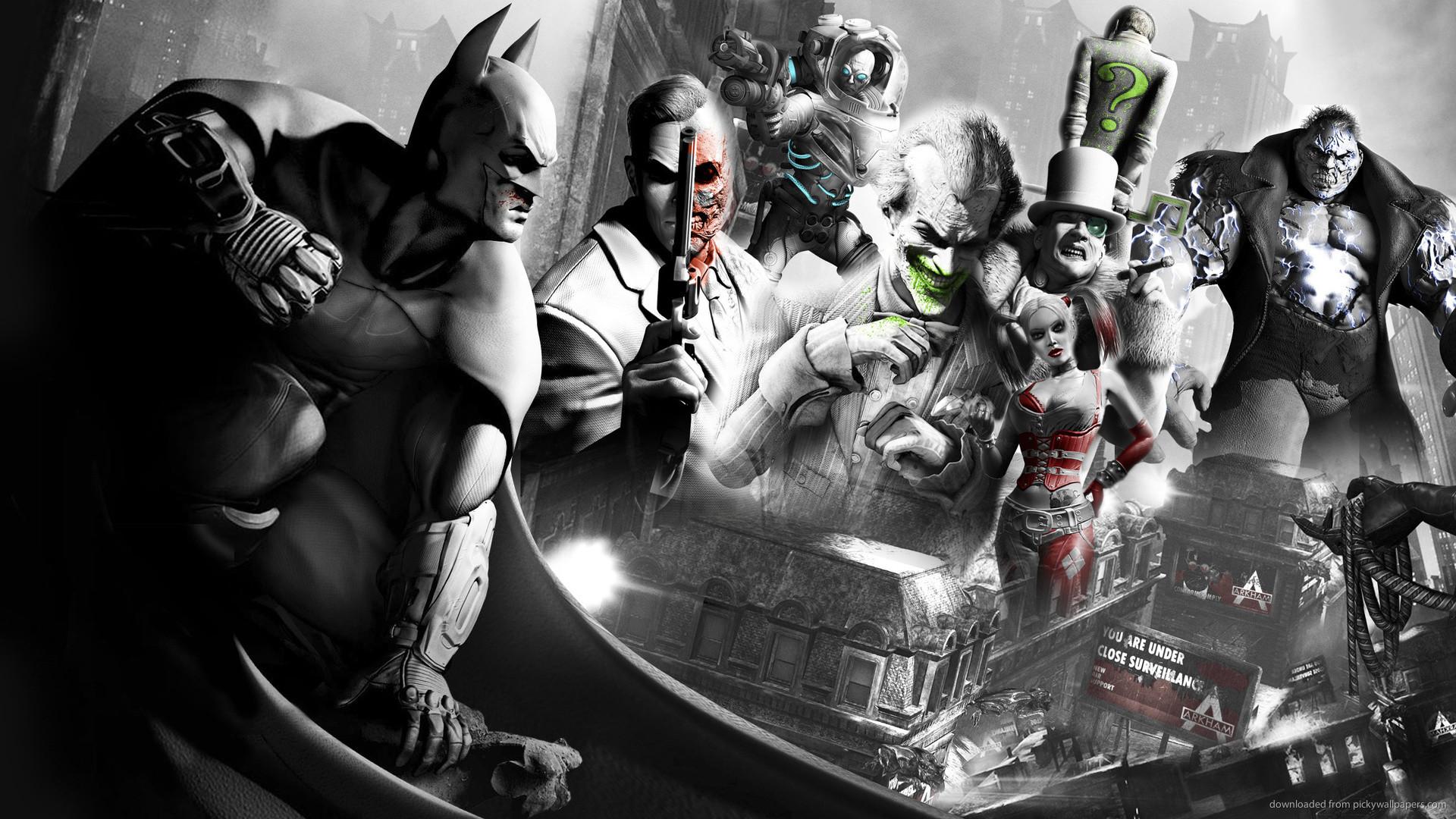 Batman Arkham City Characters picture