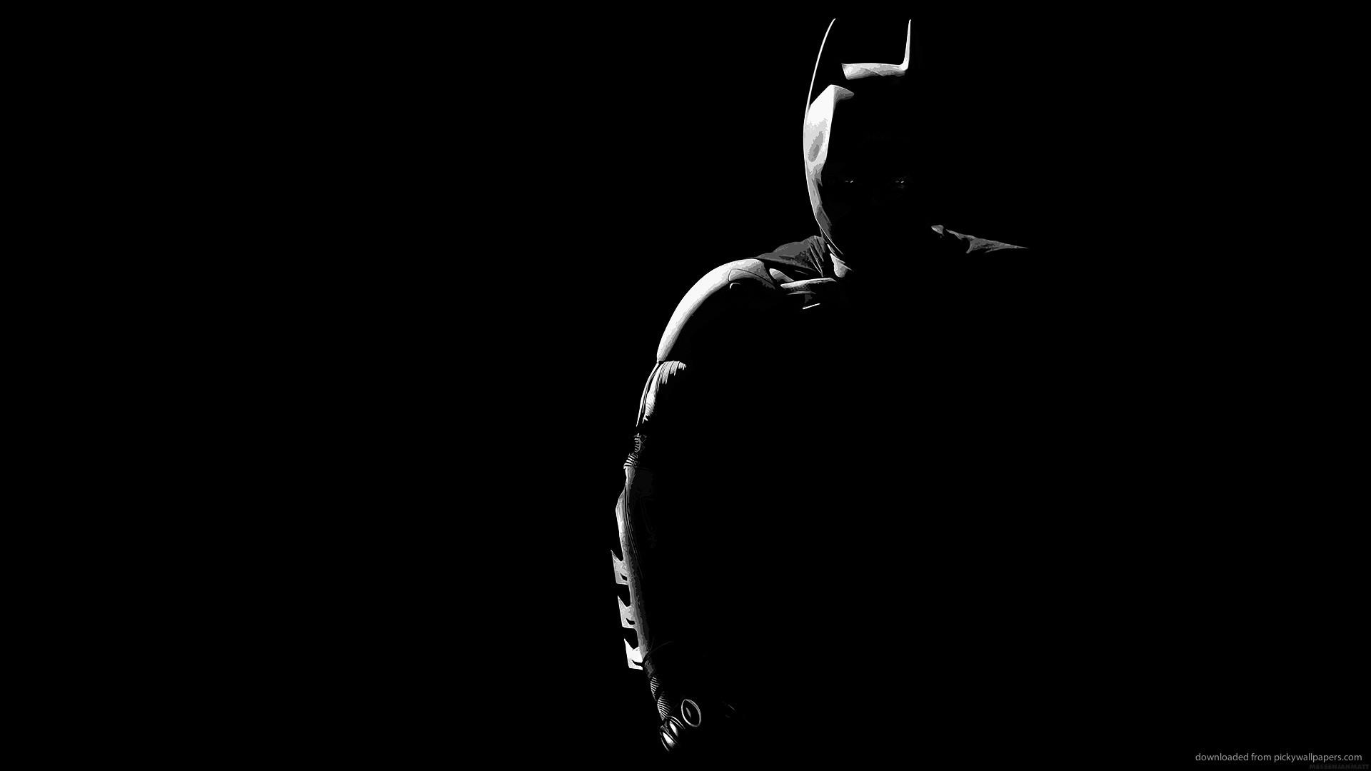Batman silhouette picture