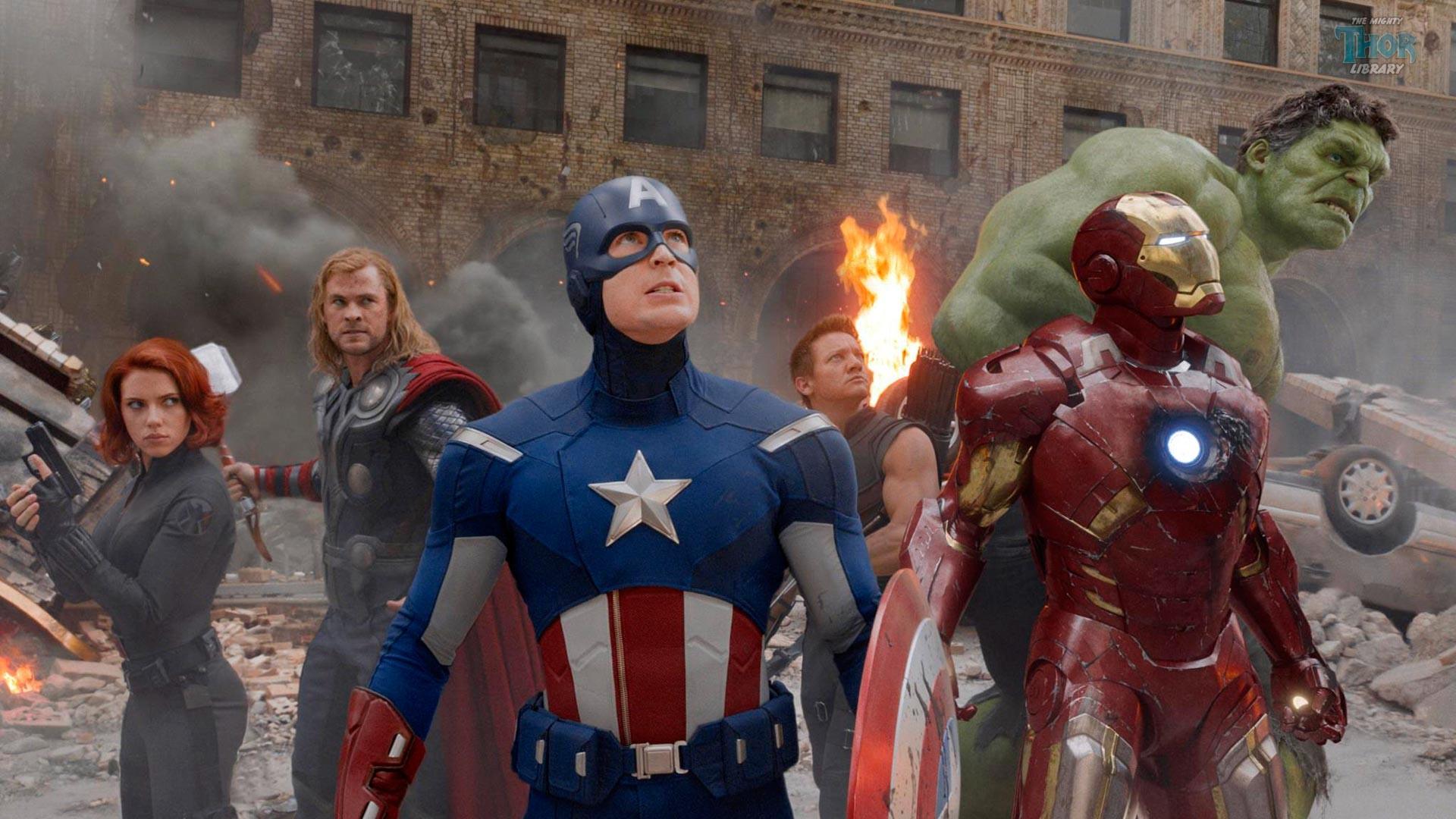 Avengers Assemble in Movie (1920 x 1080) wallpaper
