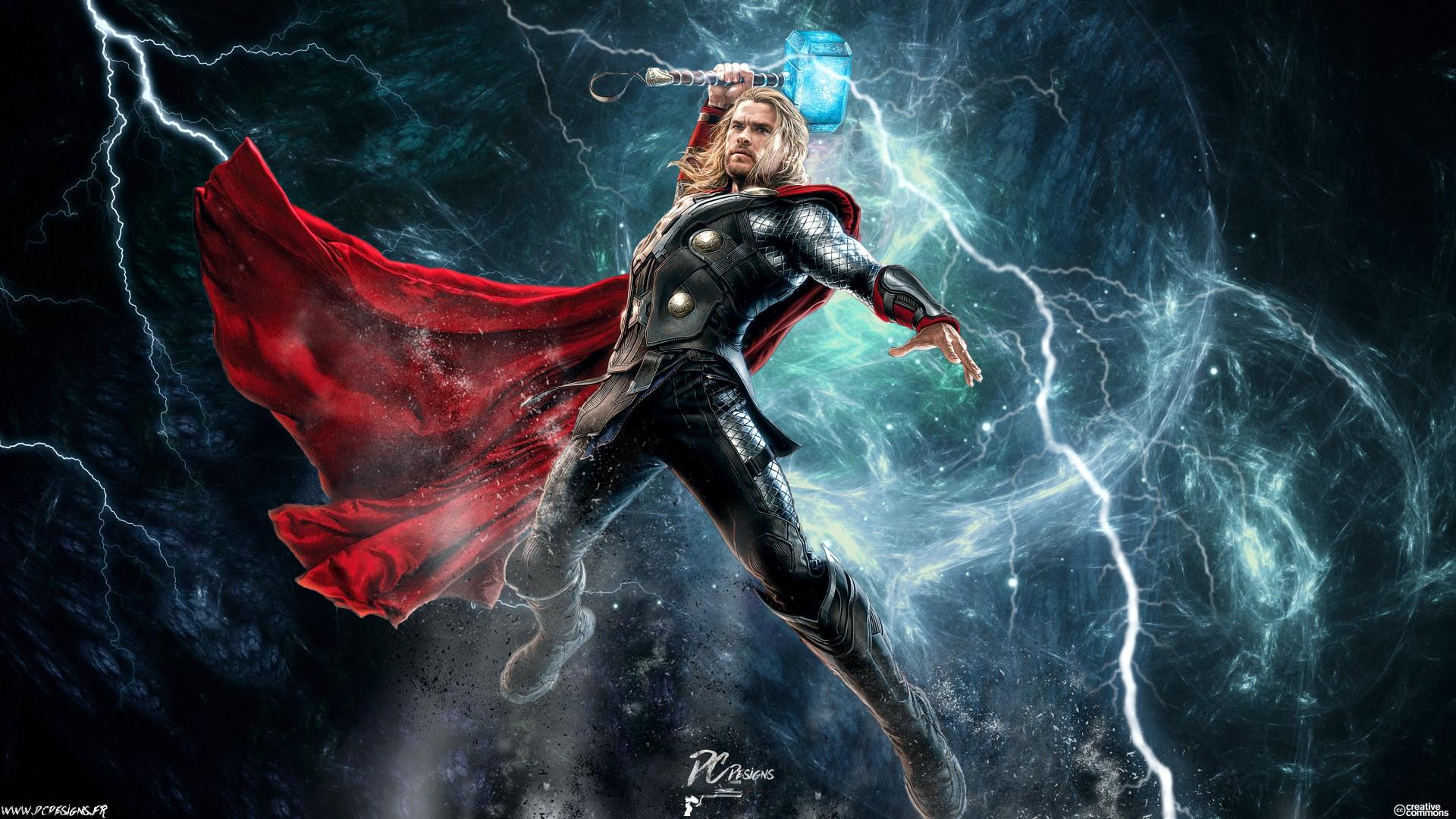 Movie – Avengers: Age of Ultron Thor Chris Hemsworth Avengers Fan Art  Digital Art Wallpaper