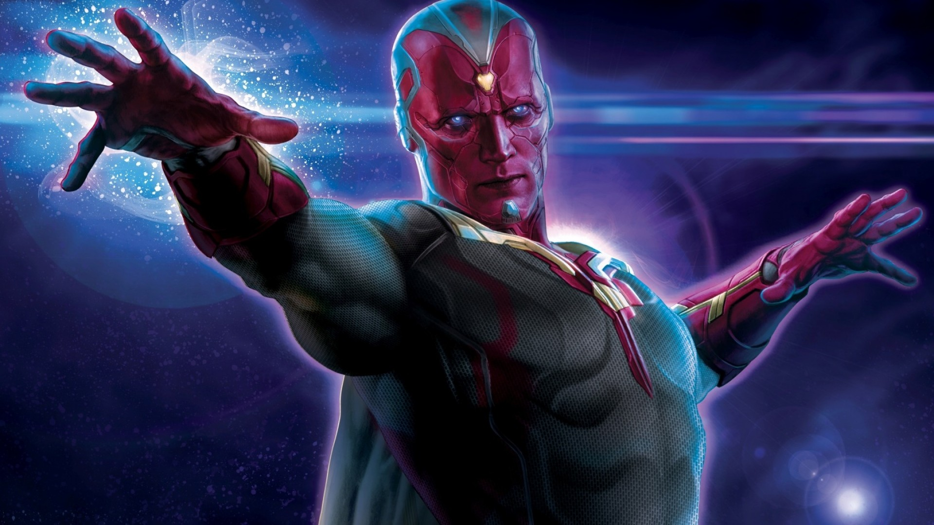 … Background Full HD 1080p. Wallpaper avengers, age of ultron,  paul bettany, vision