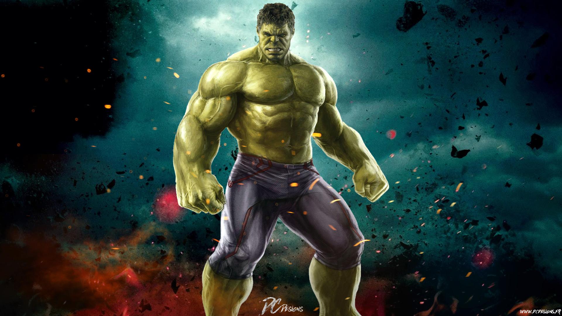 Funny Hulk Desktop Wallpaper