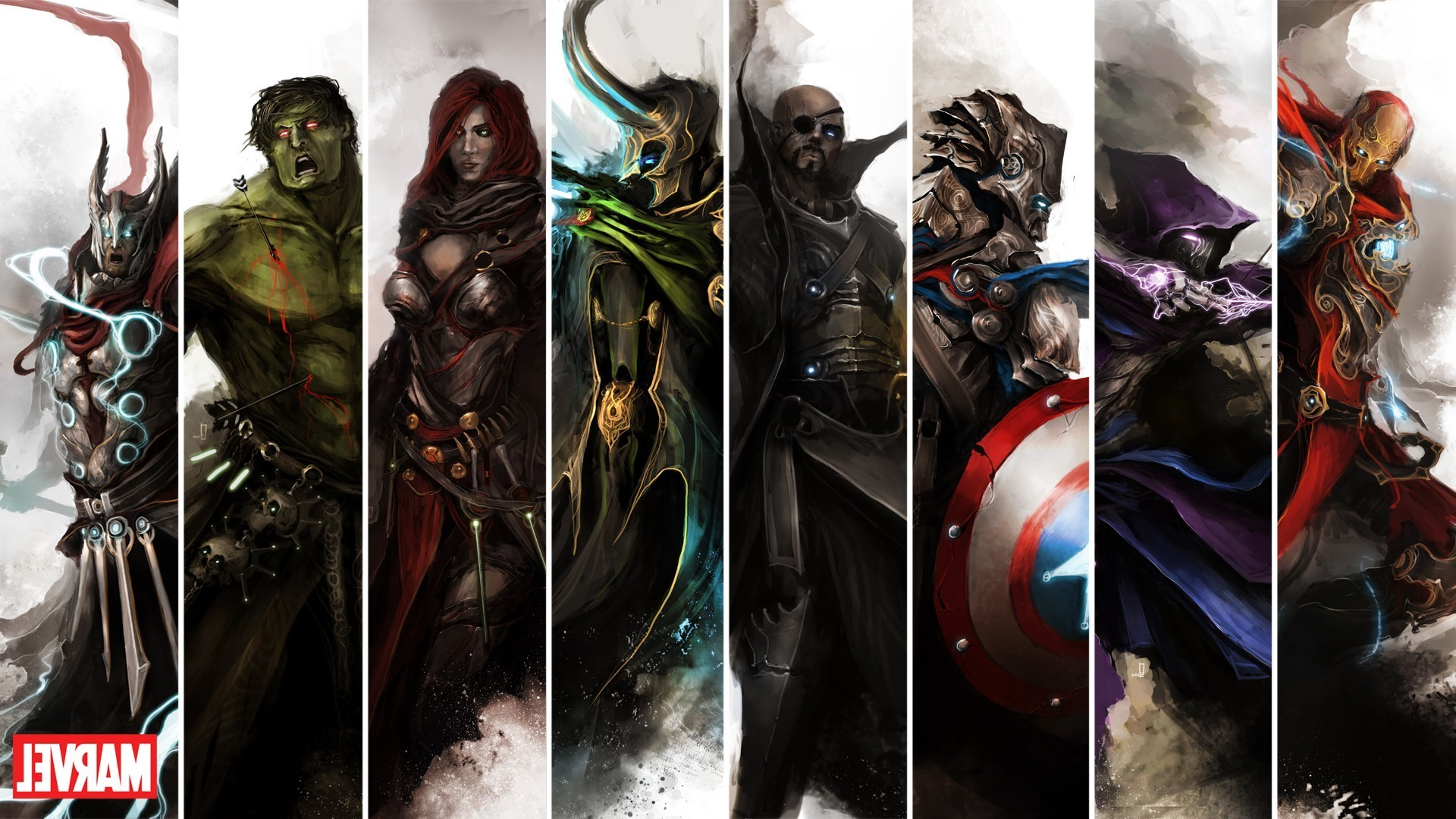 … marvel comics the avengers wallpapers hd desktop and mobile …