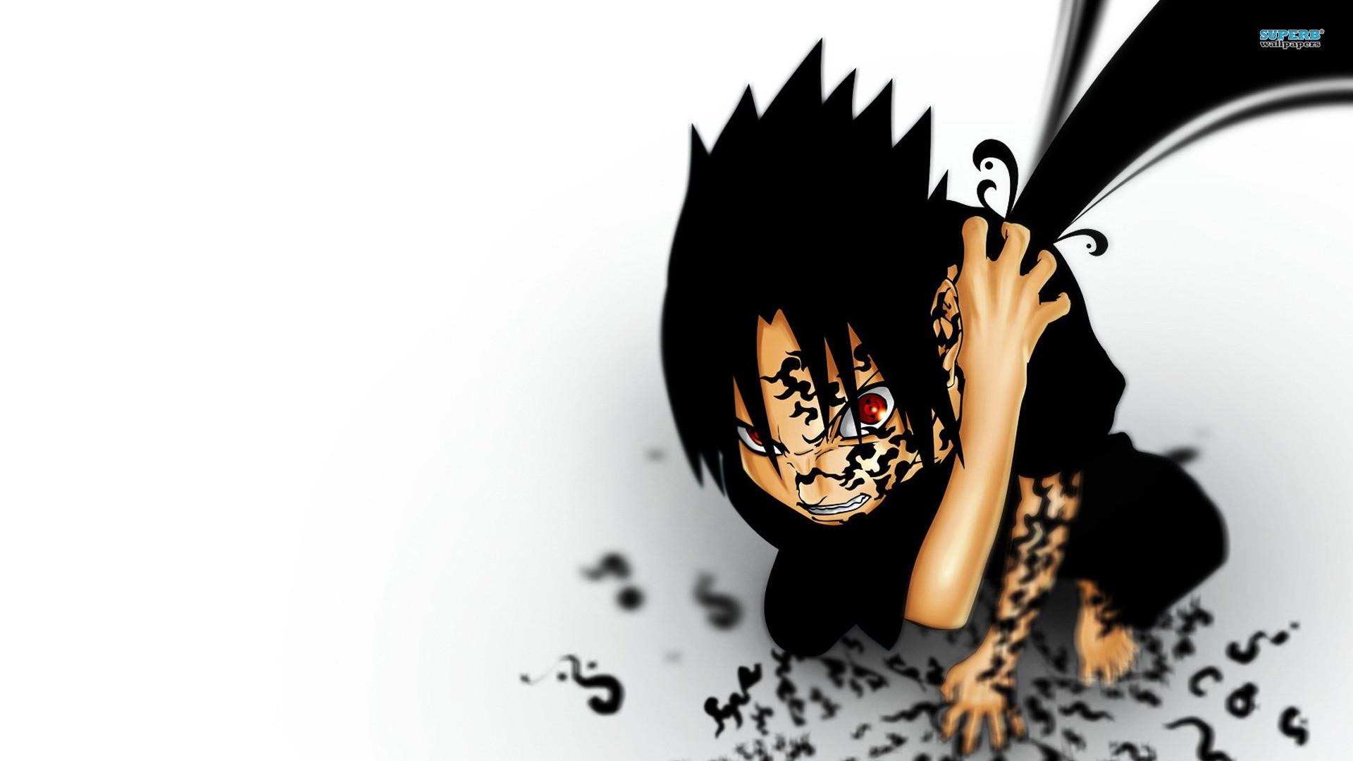 Wallpapers Sasuke Uchiha Naruto Anime 1920×1080