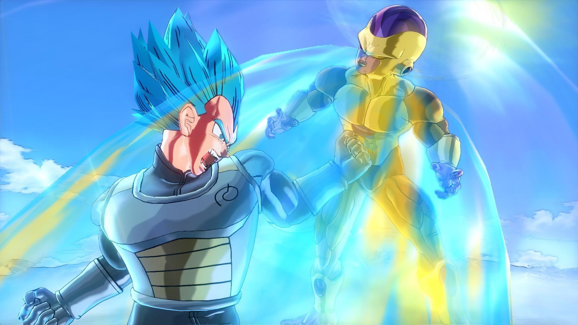 Super Saiyan God Super Saiyan Goku and Vegeta DLC for Dragon Ball