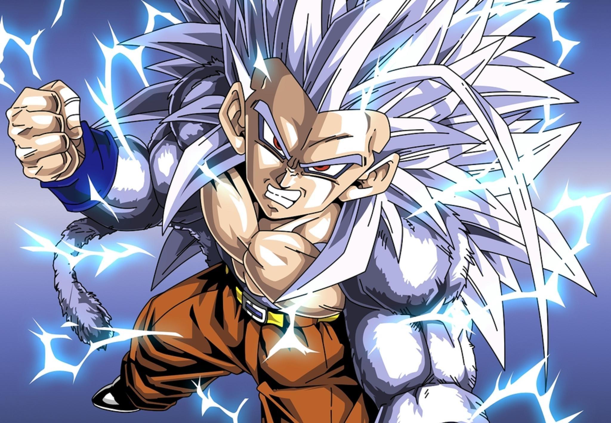 Dragon Ball Z Super Saiyan 5 · vegeta super saiyan god …