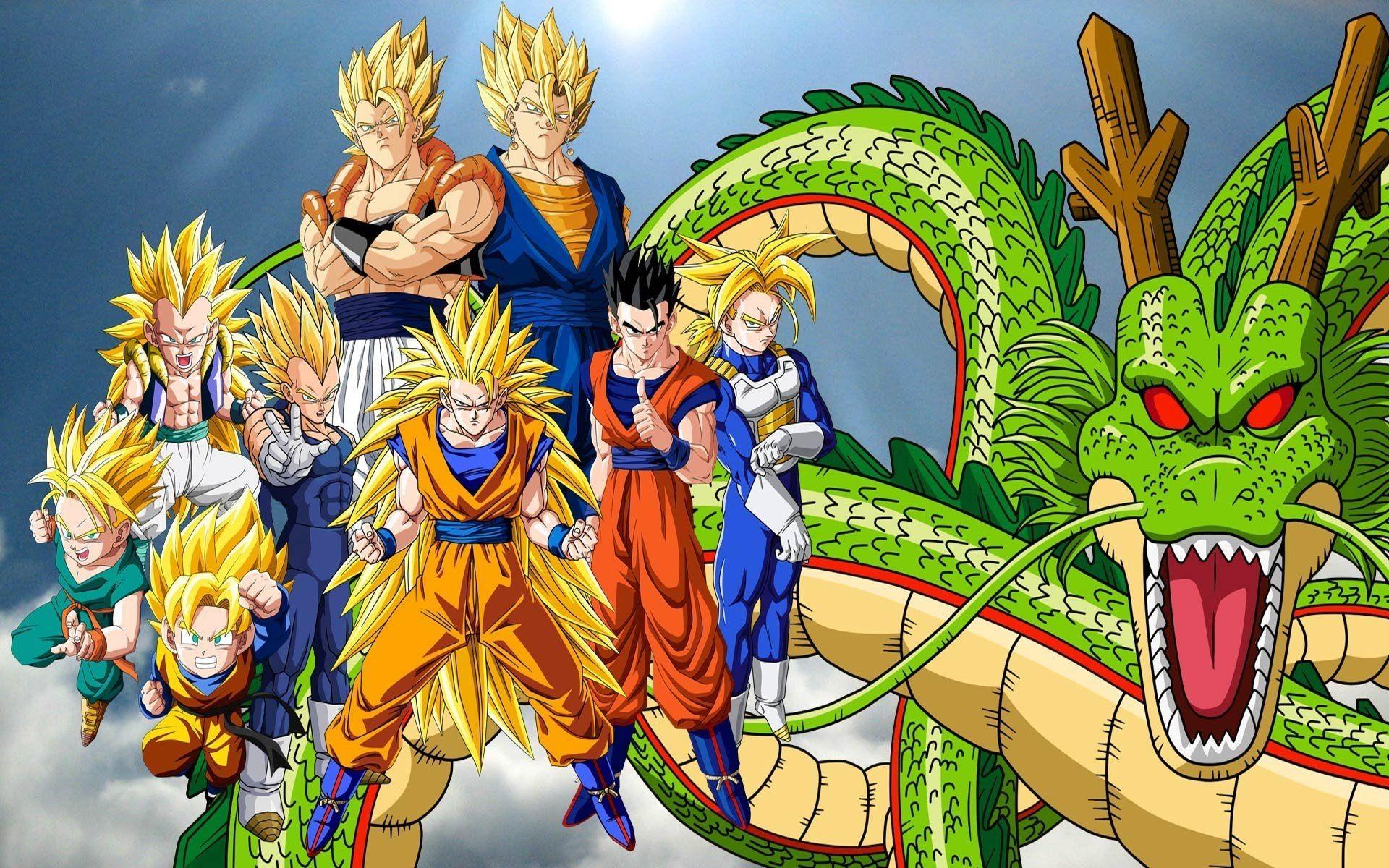 Dragon Ball Dragon Ball Z Son Goku Vegeta Super Saiyan » WallDevil .