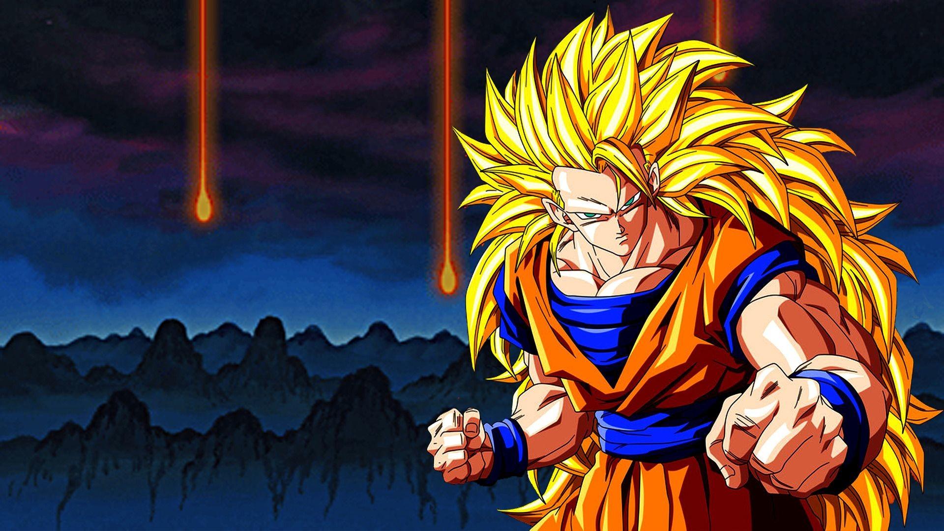 HD Goku Super Saiyan 3 Dragon Ball Z Wallpaper Full Size .