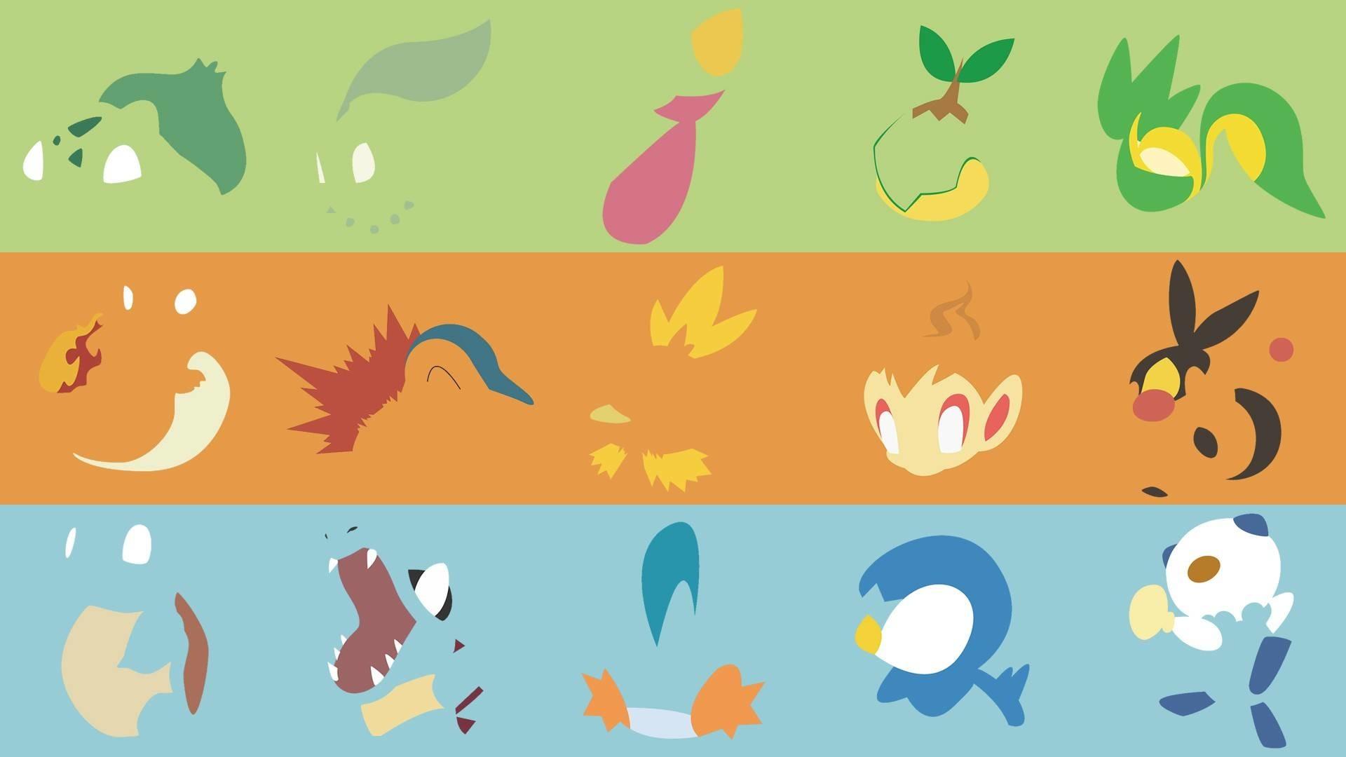 Pokemon Starters Wallpaper – WallpaperSafari