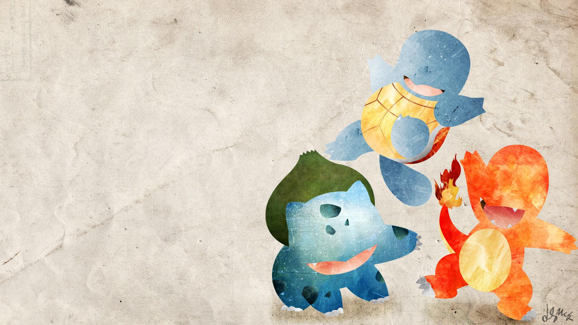 Kanto Starters – Pokemon by doubleu42 Kanto Starters – Pokemon by doubleu42