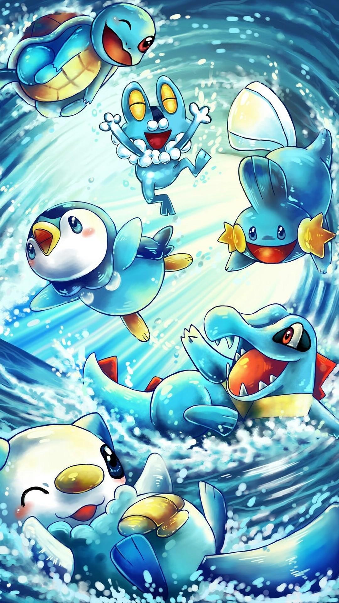 … Starter Pokemon characters Game mobile wallpaper