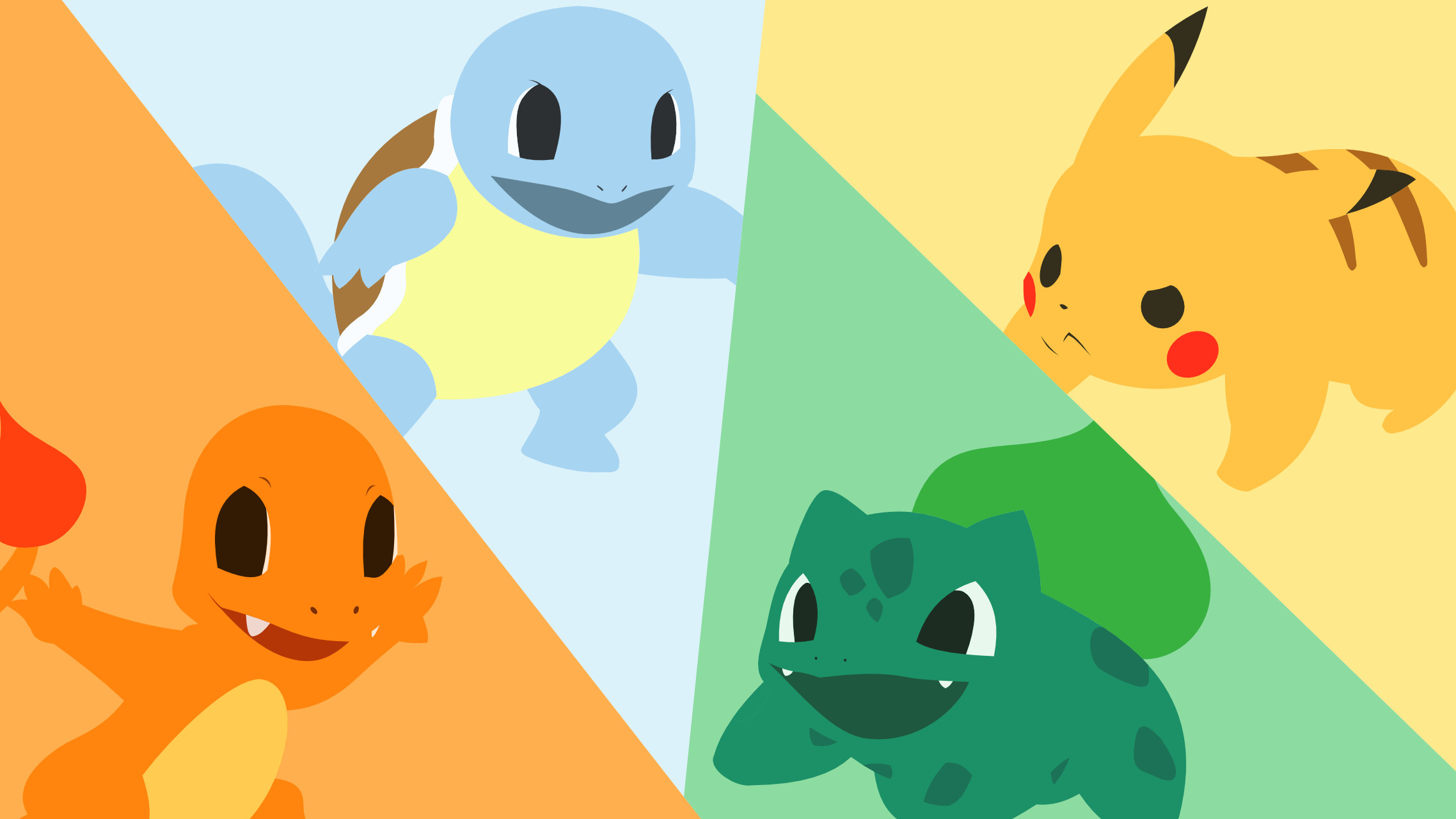 Video Game РPok̩mon Bulbasaur (Pok̩mon) Charmander (Pok̩mon) Squirtle ( Pok̩mon)
