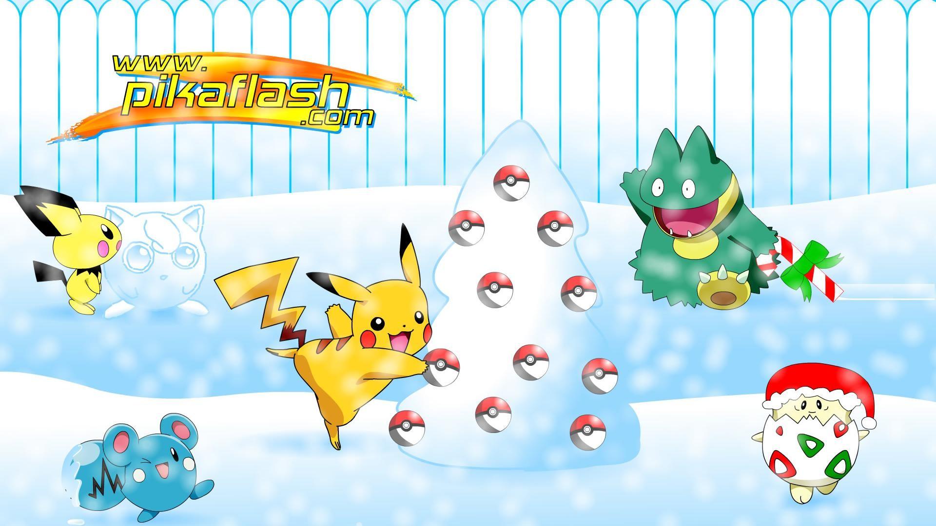 Pokemon Christmas Wallpaper