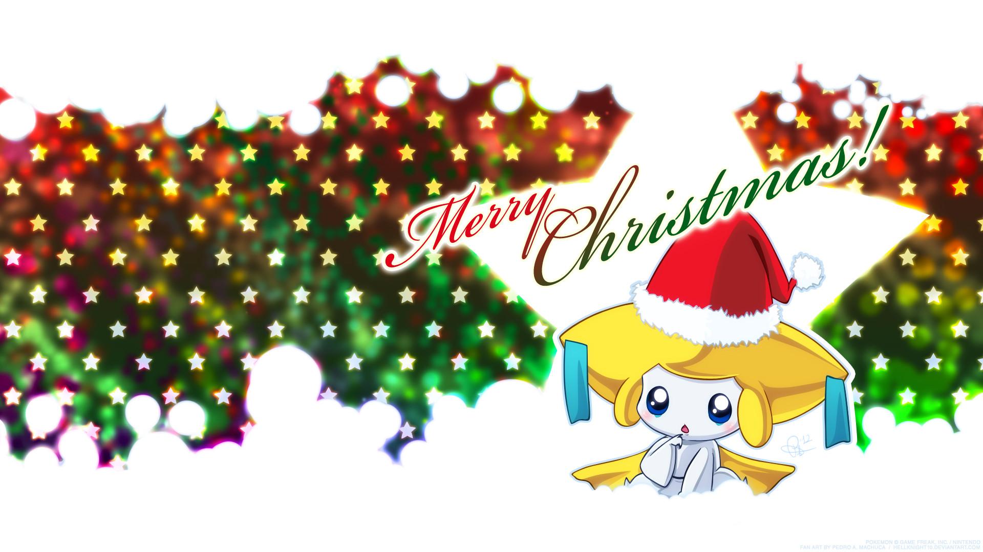 Christmas Jirachi Wallpaper by Hellknight10 Christmas Jirachi Wallpaper by  Hellknight10