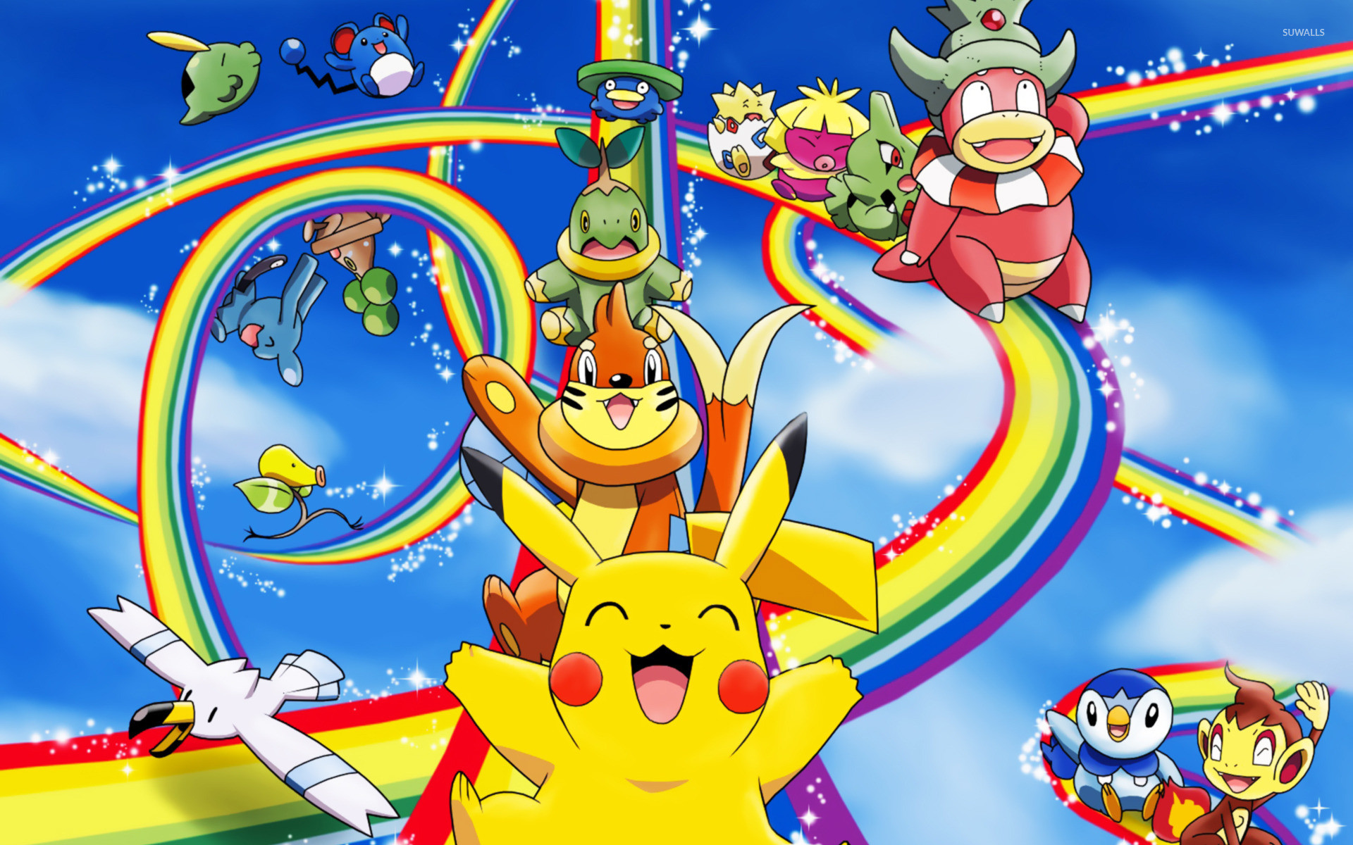 Pokemon Diamond And Pearl Wallpapers