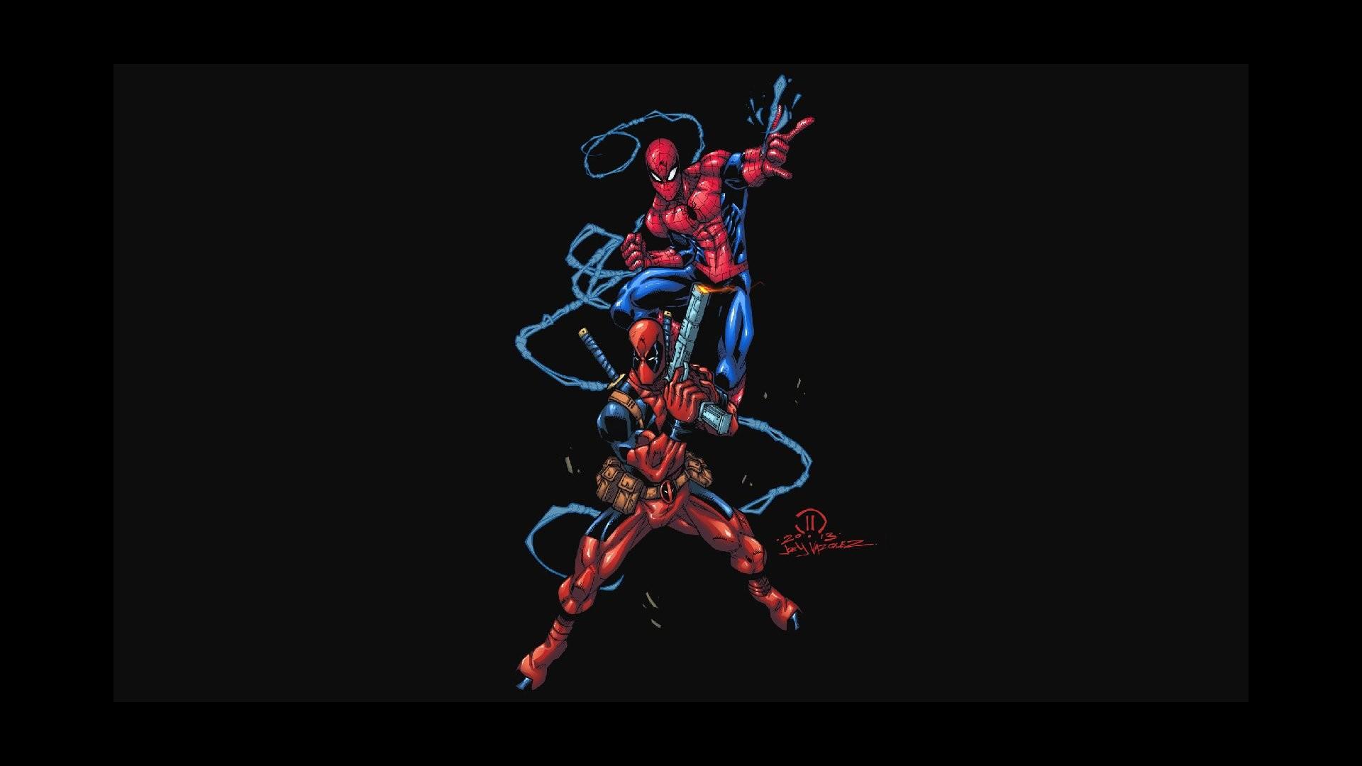 Comics – Spider-Man Deadpool Wallpaper