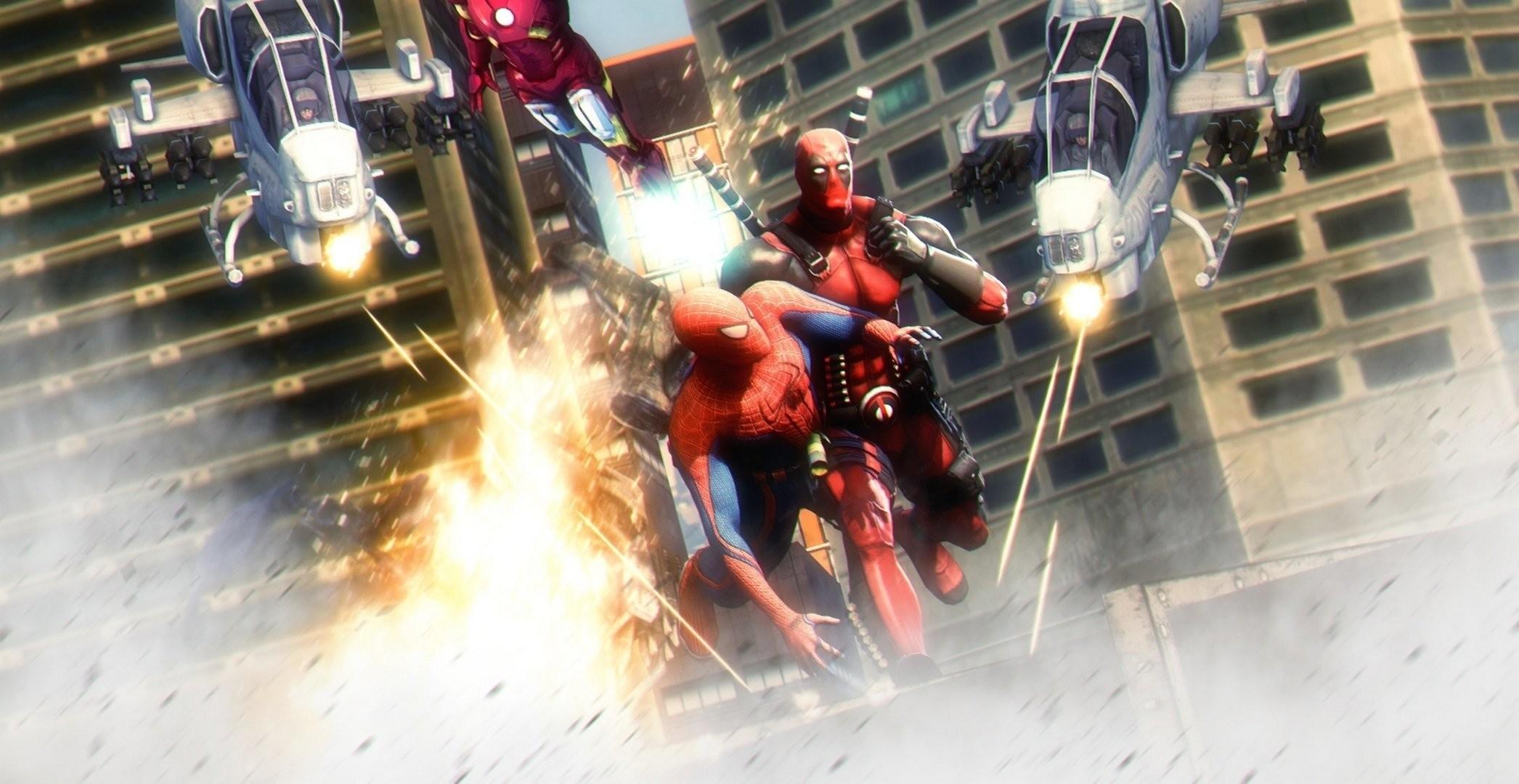 Heroes comics Deadpool hero Battles Spiderman Fantasy wallpaper      356228   WallpaperUP