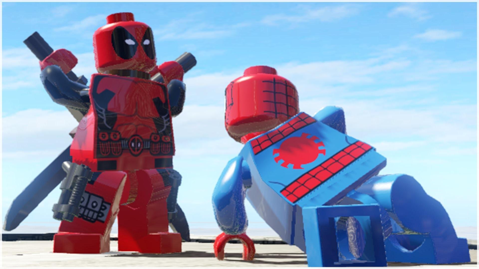 LEGO DEADPOOL VS LEGO SPIDER-MAN (SPIDERMAN) – CRAZY BATTLE (LEGO Marvel  Super Heroes)