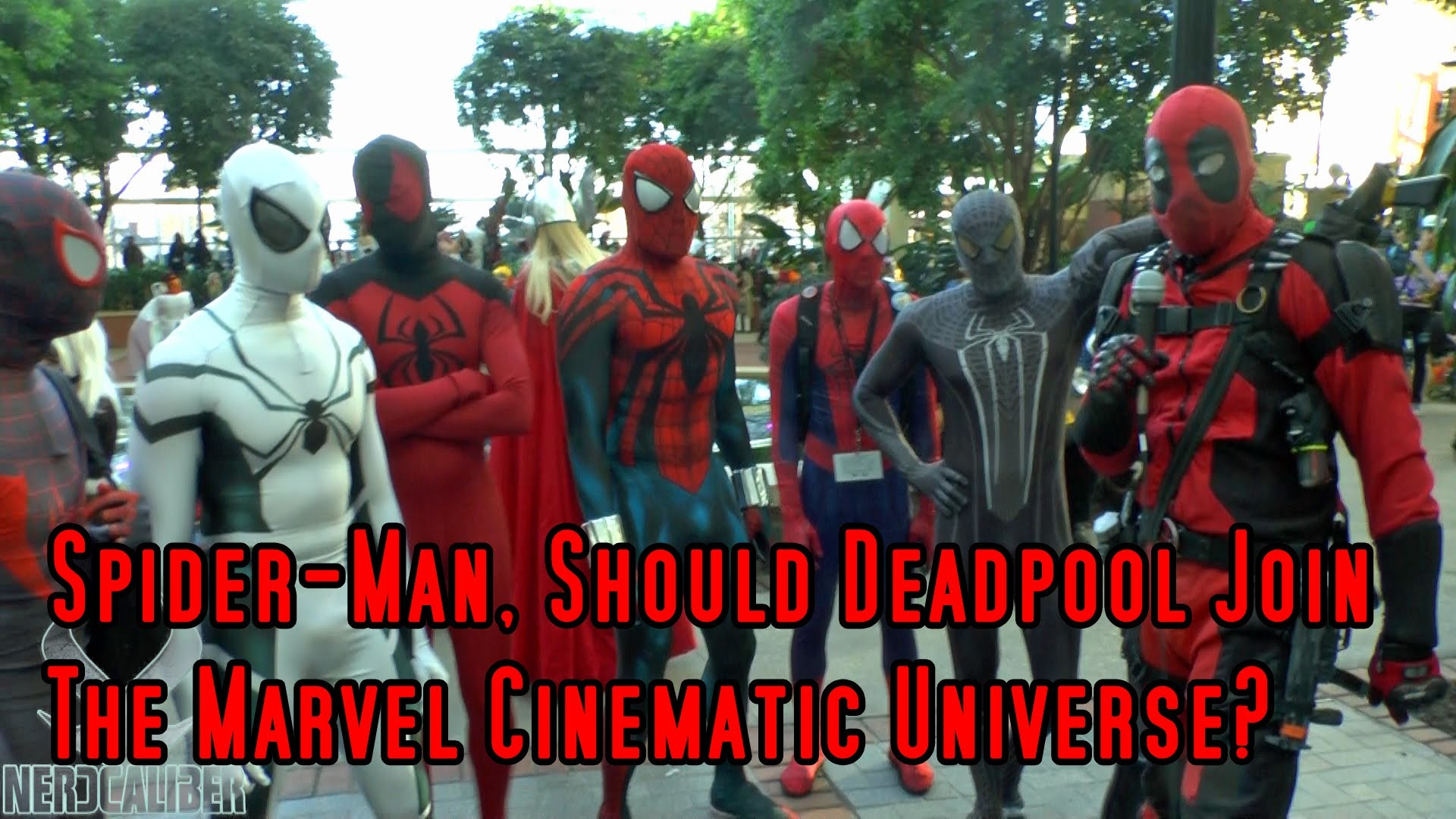 Spider-Man, Should Deadpool Join The Marvel Cinematic Universe? Katsucon  2015 Cosplay – YouTube